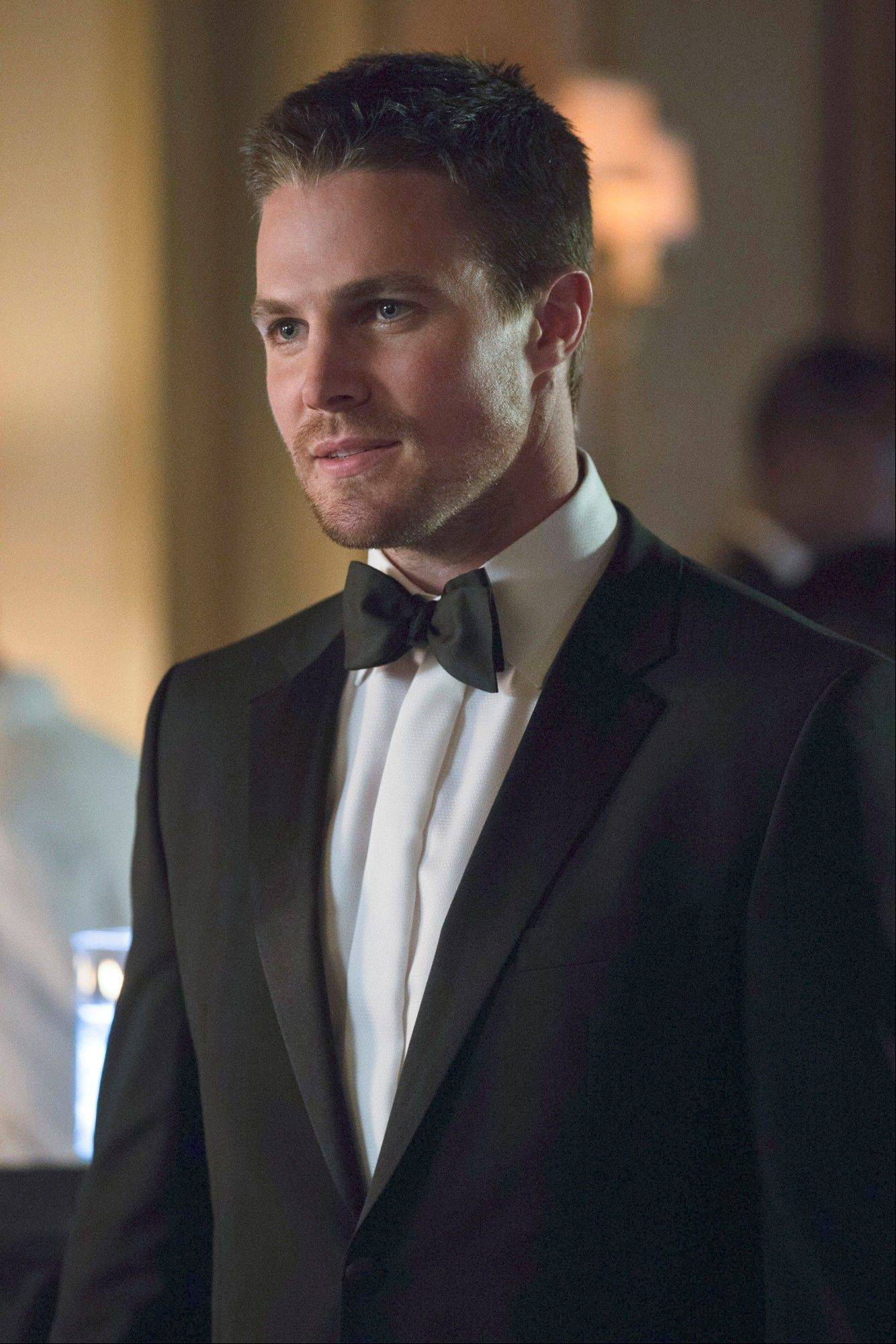 "Stephen Amell, who stars as Oliver Queen on The CW show ""Arrow,"" hopes that the show can one day be considered one of the best superhero television shows of all time."