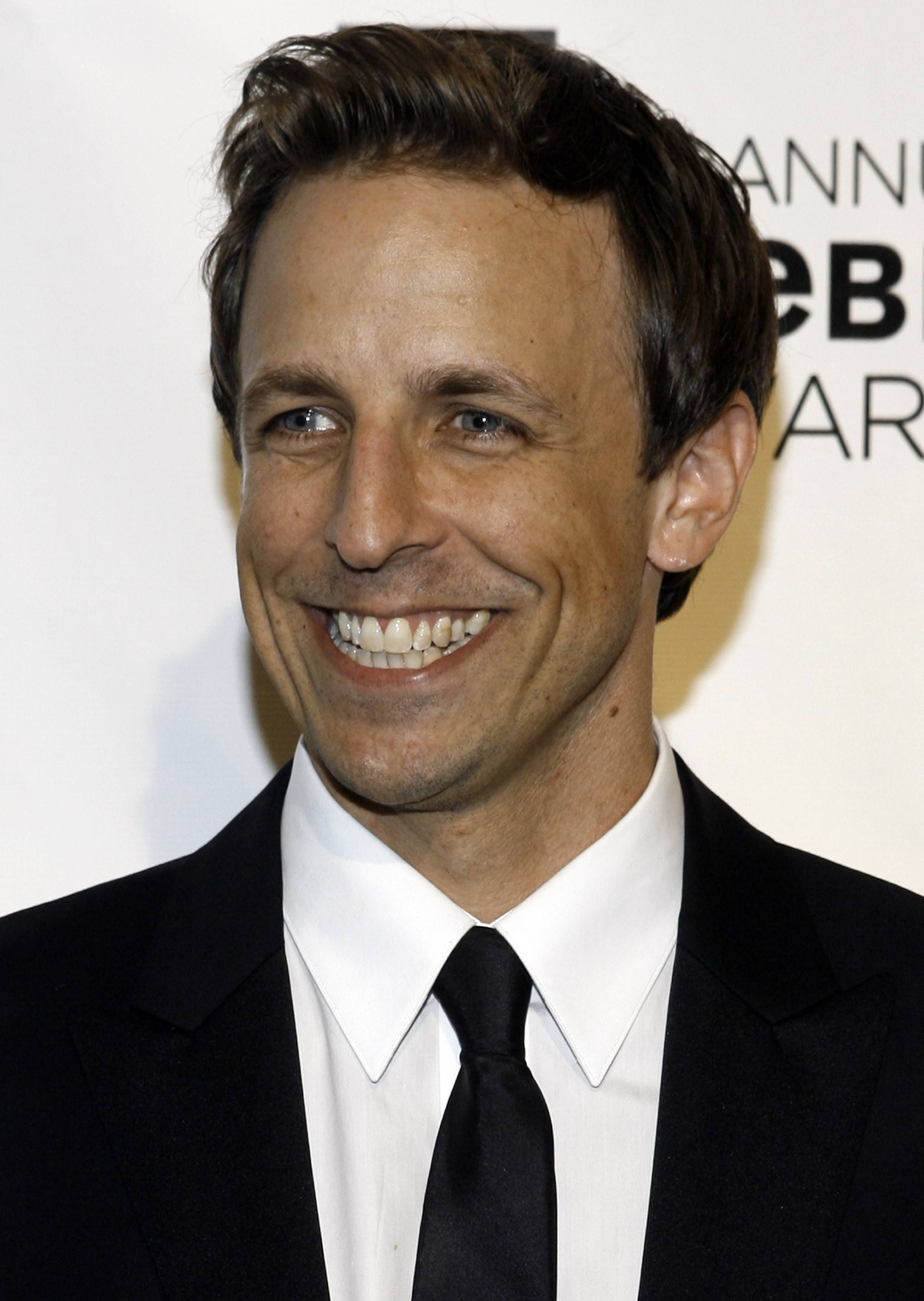 "Former ""SNL"" cast member Seth Meyers takes over NBC's ""Late Night"" talk show Feb. 24."