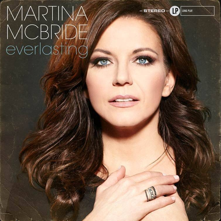 "Martina McBride, known for her huge soprano voice, is self-releasing ""Everlasting,"" a new album of classic soul and R&B songs, on April 8."