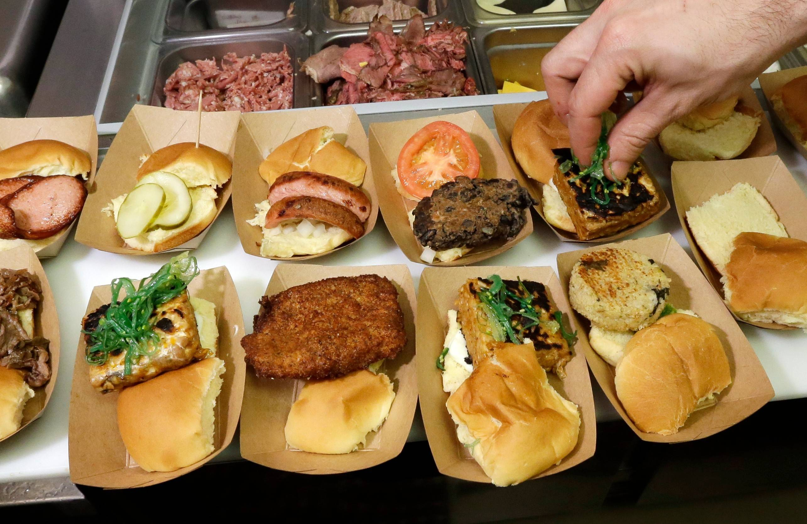 Green Dot Stables, a bustling sliders joint in an industrial area not far from downtown Detroit, may restore your faith in the city's future and will give you a whole new vision of the lowly slider.