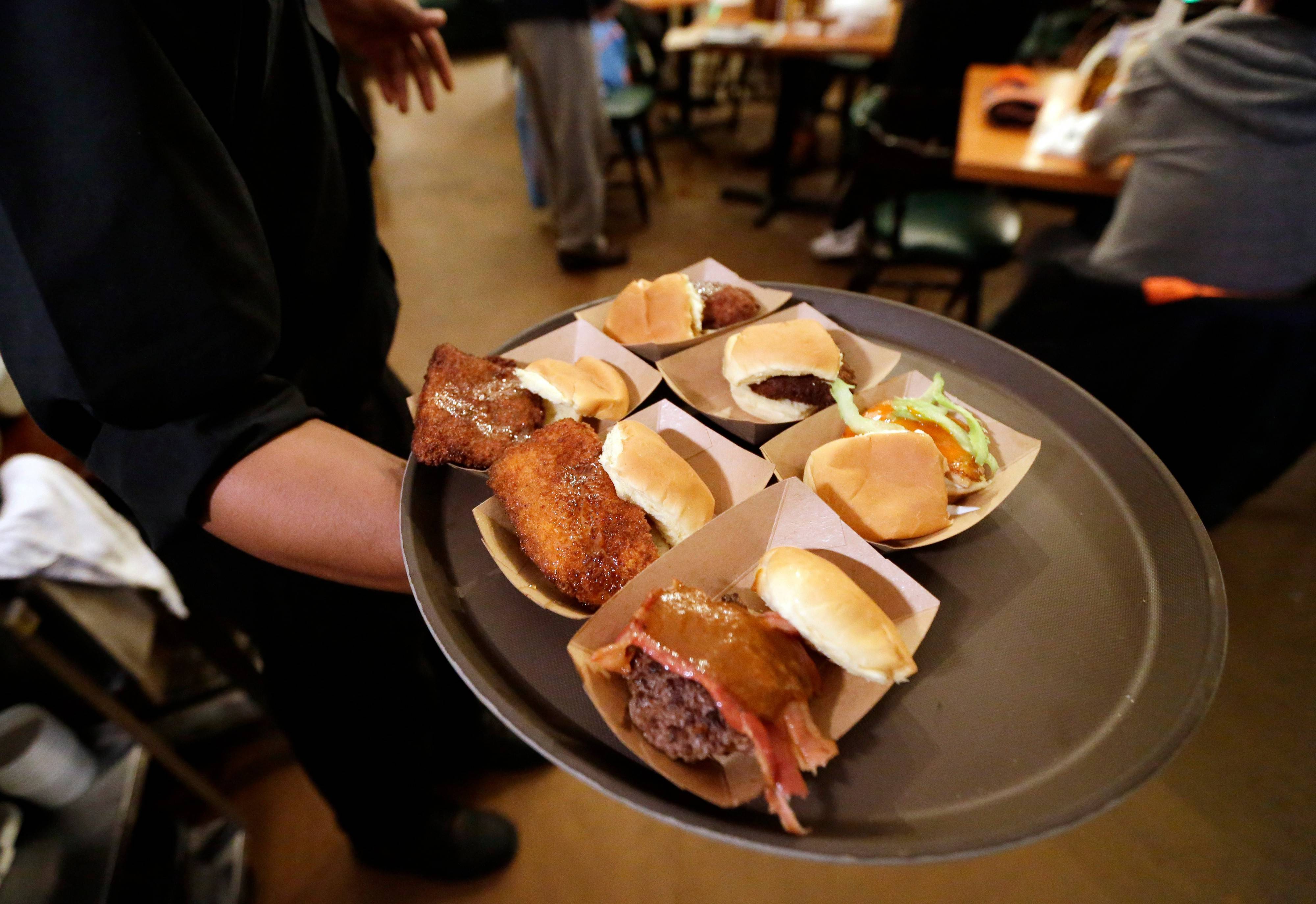 Green Dot Stables in Detroit offers 20 versions of sliders.
