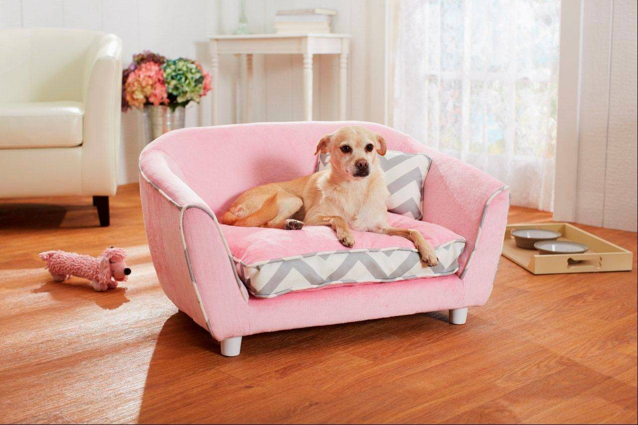 The contemporary styling, colors and patterns from Enchanted Home Pet are designed to be inviting and comfortable for pets while offering aesthetic appeal to their human owners as accent pieces that will look nice in a well-appointed home.