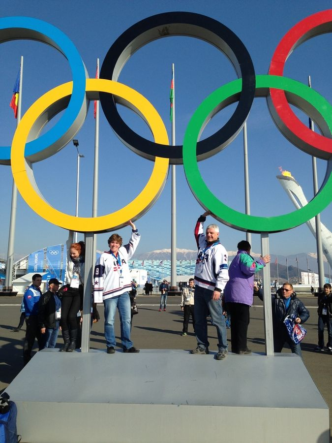 Patti and Tom Bozek of Buffalo Grove are cheering on daughter Megan, a U.S. women's hockey team player, at the Olympic Games in Sochi.