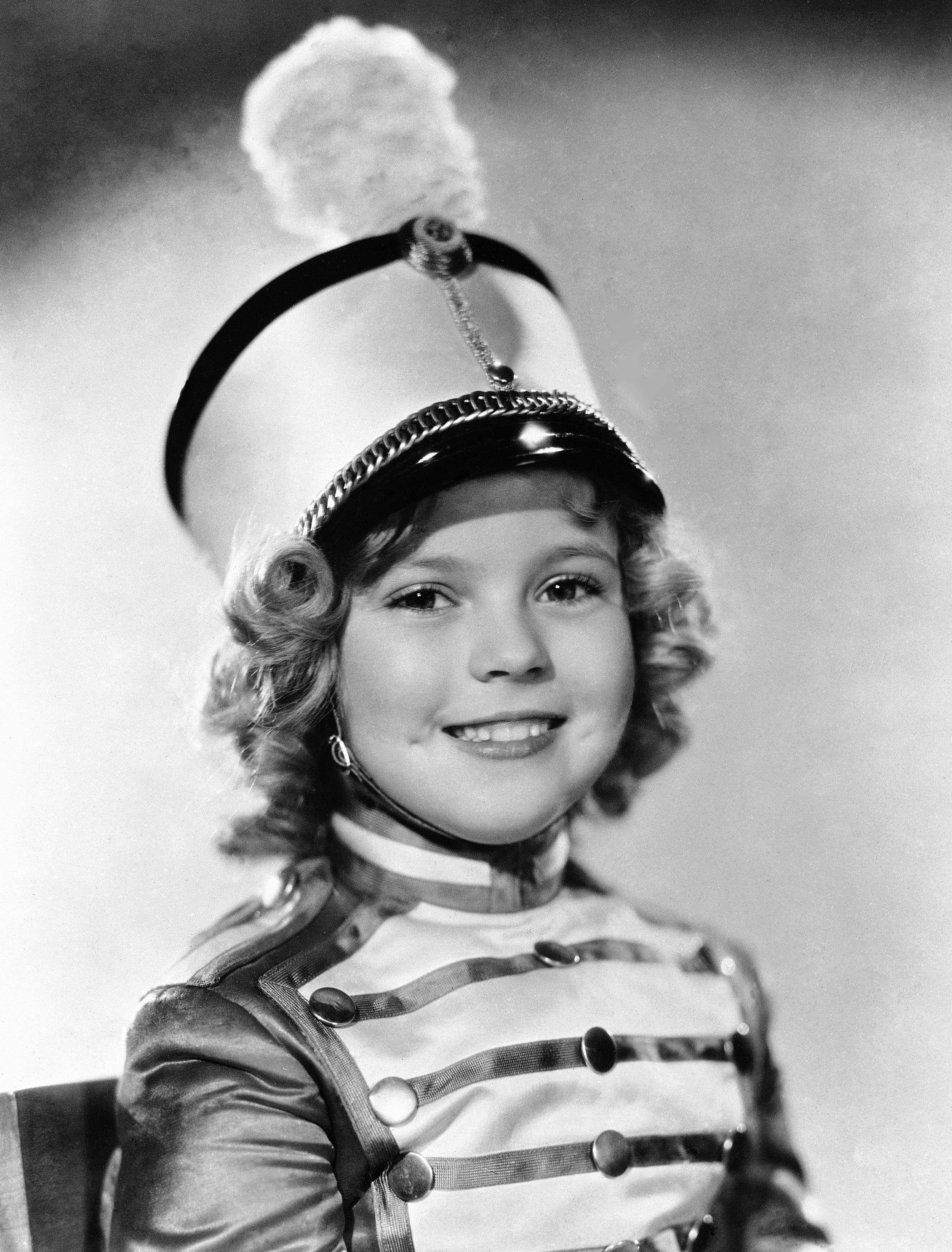 In this 1936 file photo, actress Shirley Temple is photographed as she appeared in Poor Little Rich Girl.