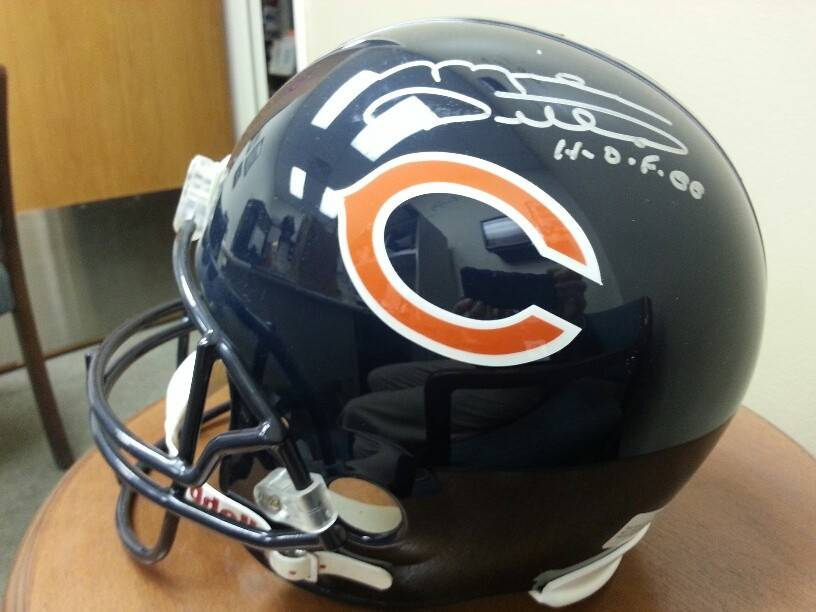 This Chicago Bears helmet signed by Mike Ditka is in the silent auction at the Palatine Township Senior Citizens Council fundraising gala on Saturday, Feb. 15.