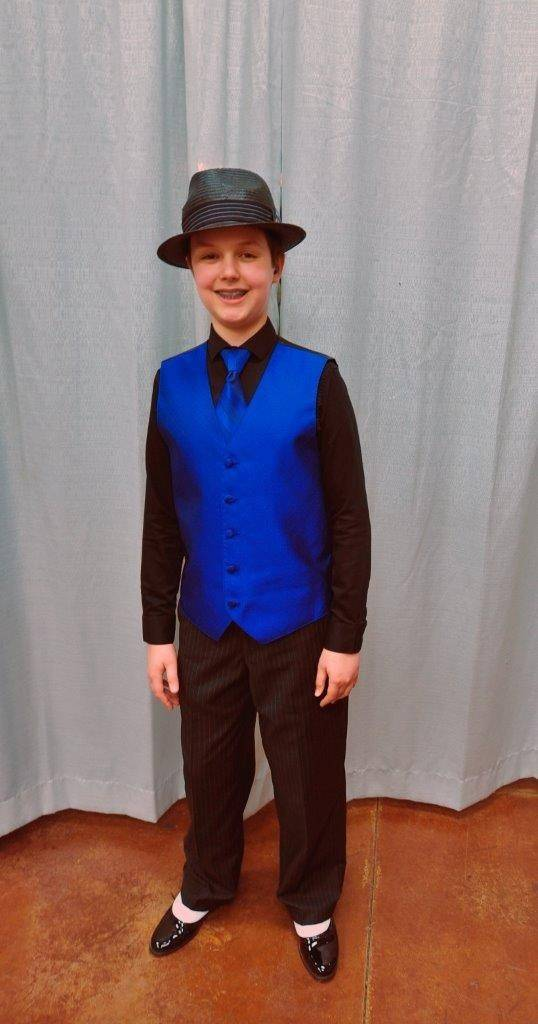Daniel Souvigny of Hampshire, 12, won first place at the Illinois Association of Agricultural Fairs Official Talent Contest State Competition in Springfield.