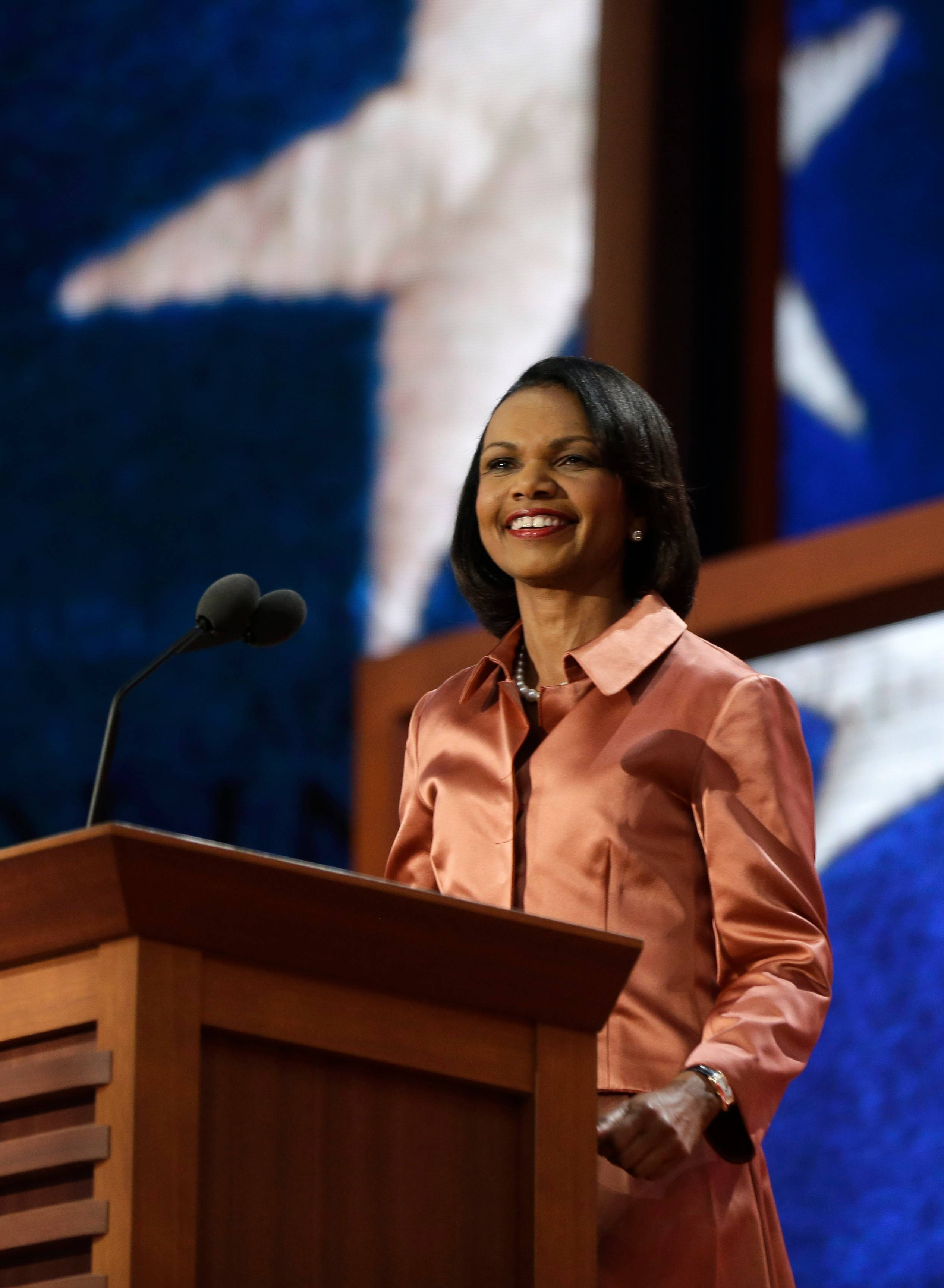 Former Secretary of State Condoleezza Rice will speak at Judson University's World Leaders Forum on March 19 in Chicago.