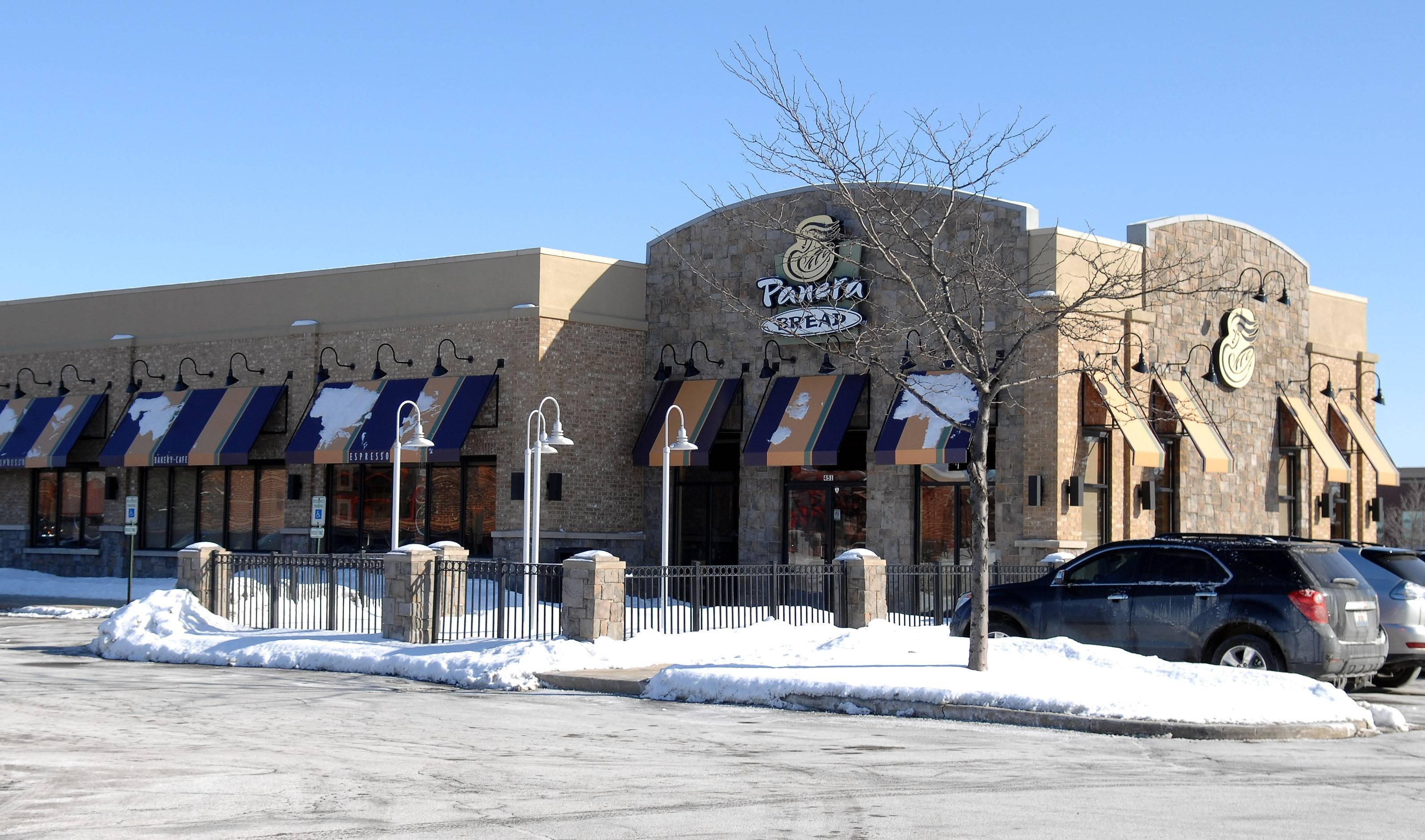 Panera Bread in Algonquin will soon be adding a drive-through.