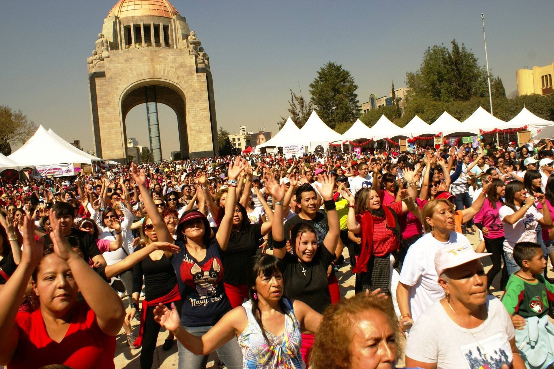 "In 2013, people in Mexico City joined in the global event One Billion Rising for Justice. This year, the event will be sponsored locally in Elgin with ""The Long Red Line"" on Friday, Feb. 14."