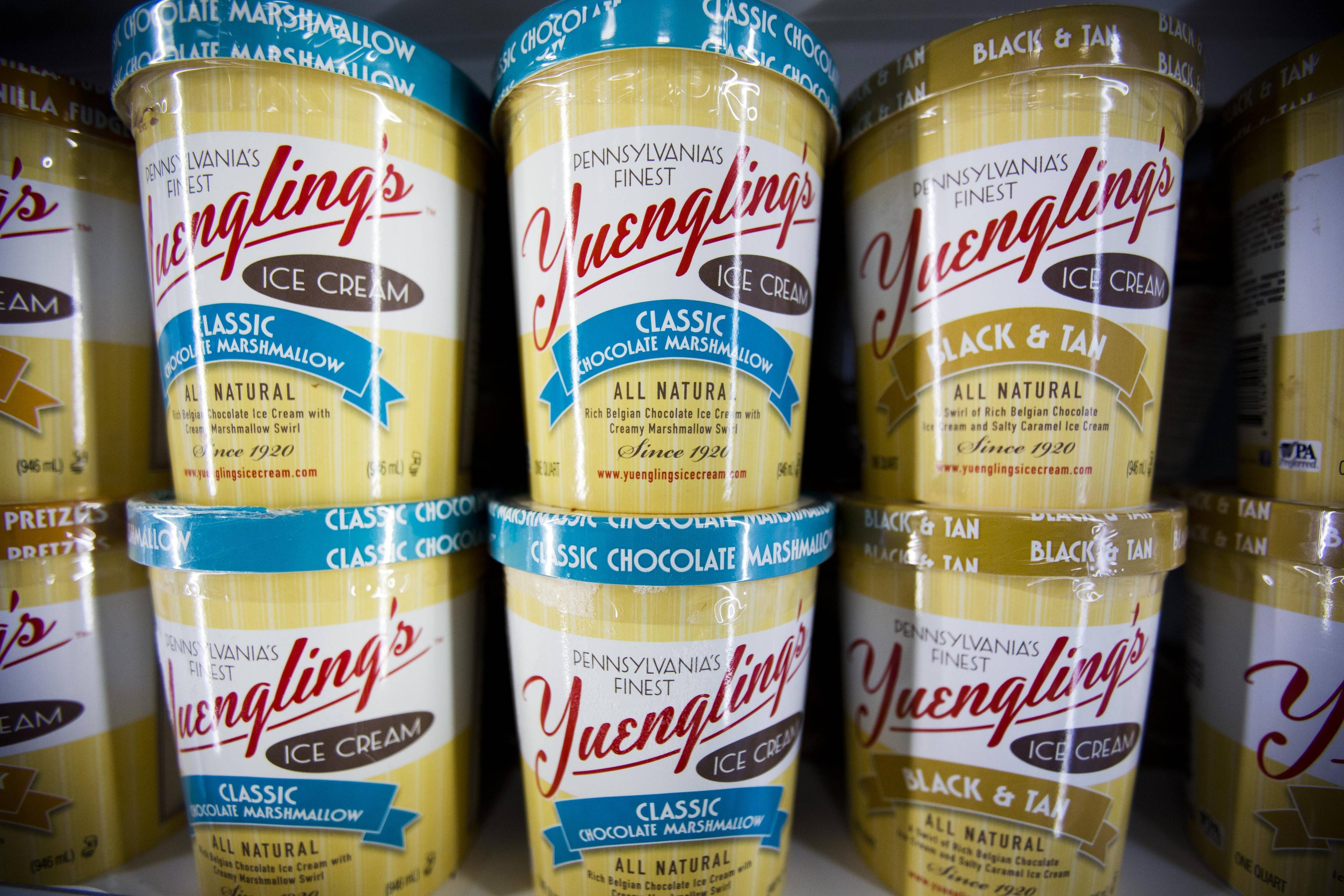 Yuengling's Ice Cream is back after an absence of nearly 30 years, available at hundreds of stores in Pennsylvania, Virginia, Maryland, West Virginia, Delaware and New Jersey.