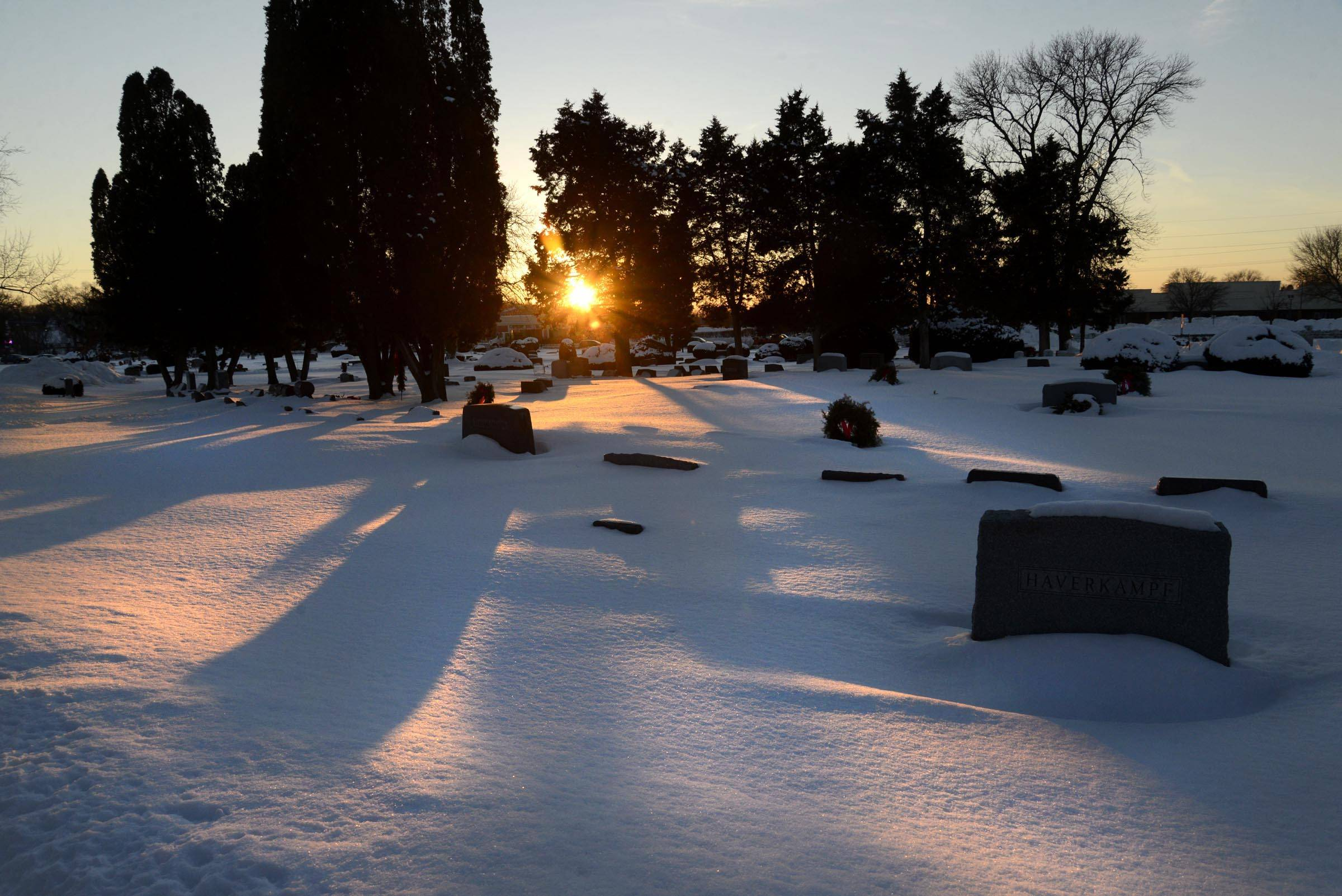 The Dundee Township East Cemetery at routes 25 and 72 will open a new burial section in spring.