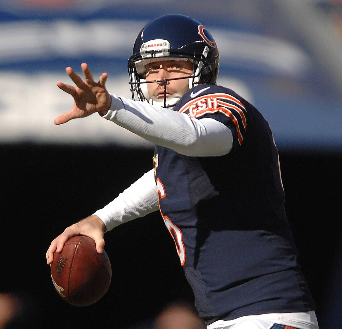 While Bears like Cutler's game, Angelo not so much