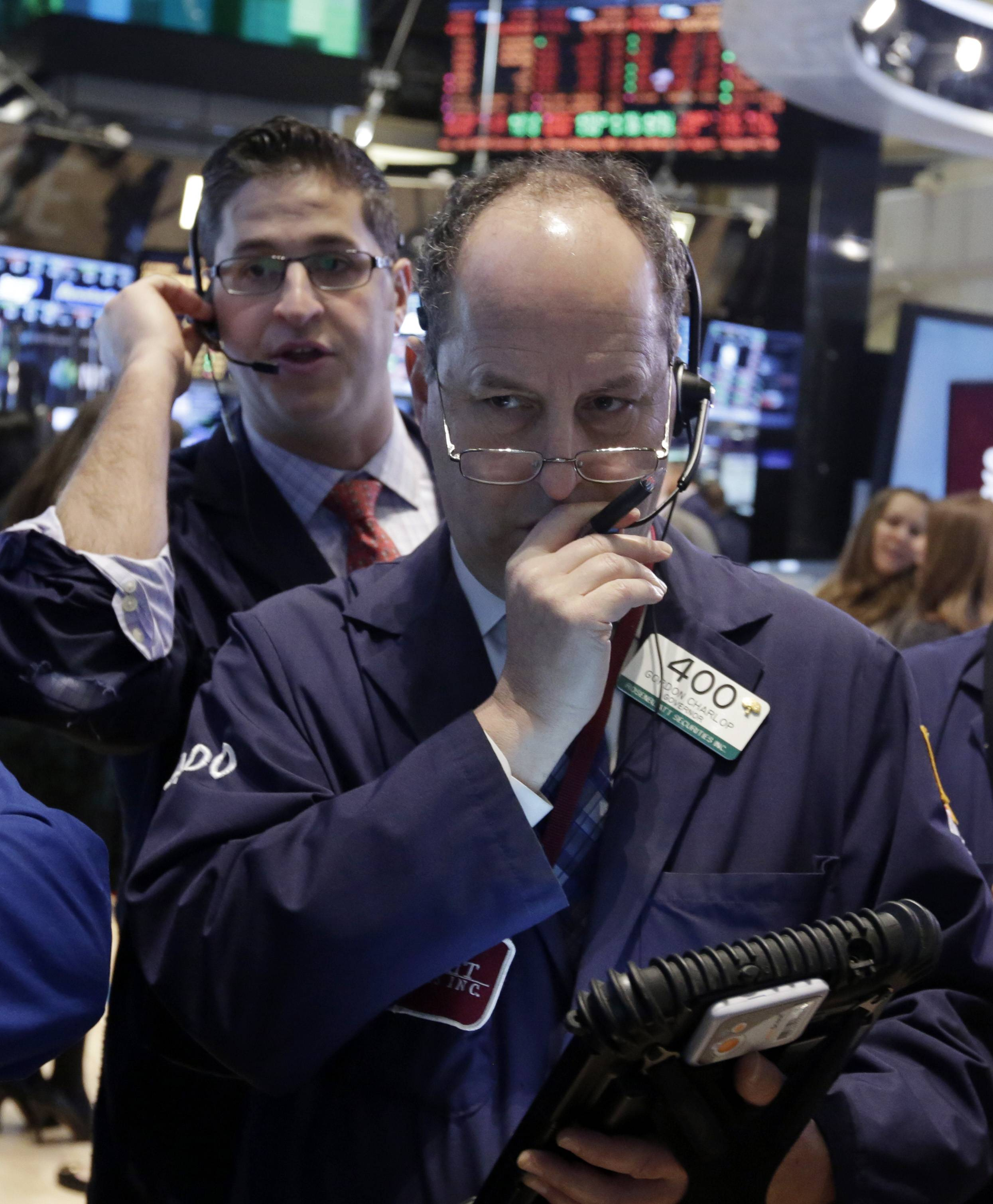Stocks fell Wednesday, after the biggest four-day jump in a year for the Standard & Poor's 500 Index, as declines in companies from Procter & Gamble Co. to Amazon.com Inc. overshadowed optimism about economic growth.