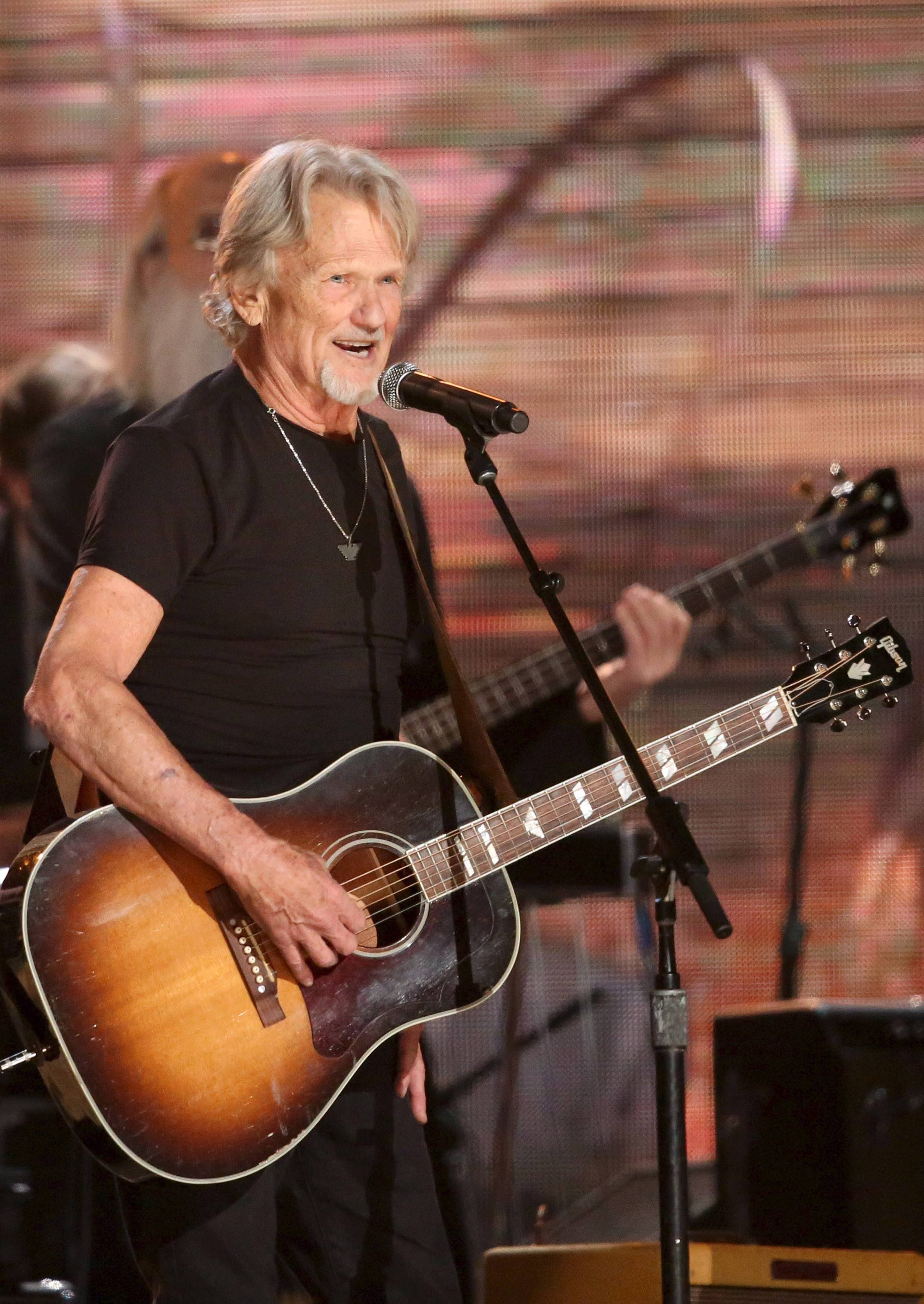 Kris Kristofferson performed last month at the 56th annual Grammy Awards. At 77, he's starting a new tour.