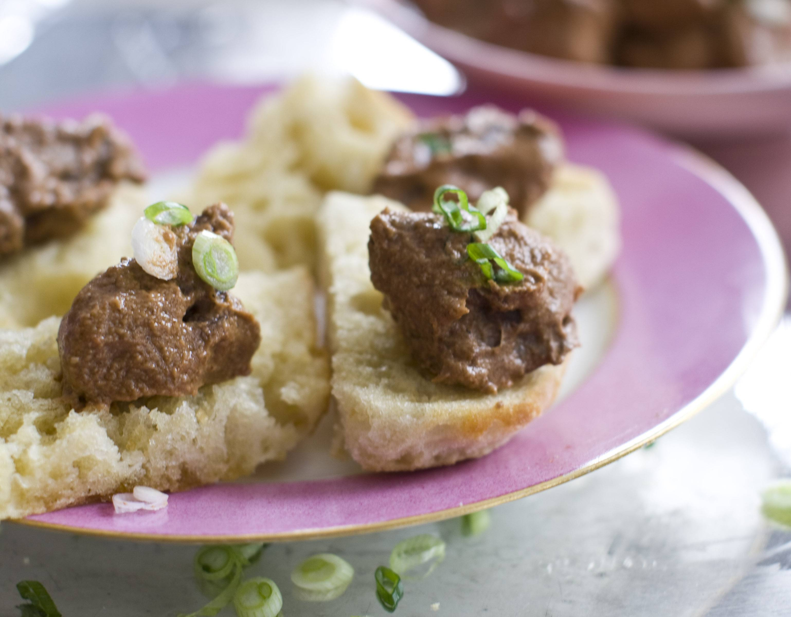 Embrace the idea of chocolate for dinner with Beef Mole with a Buttery Baguette.