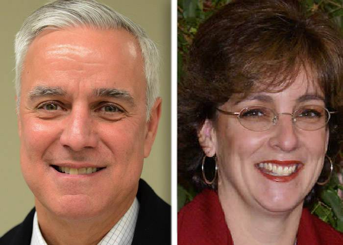 Bill Lenert and incumbent Melisa Taylor are candidates in the Kane County Board District 5 race.