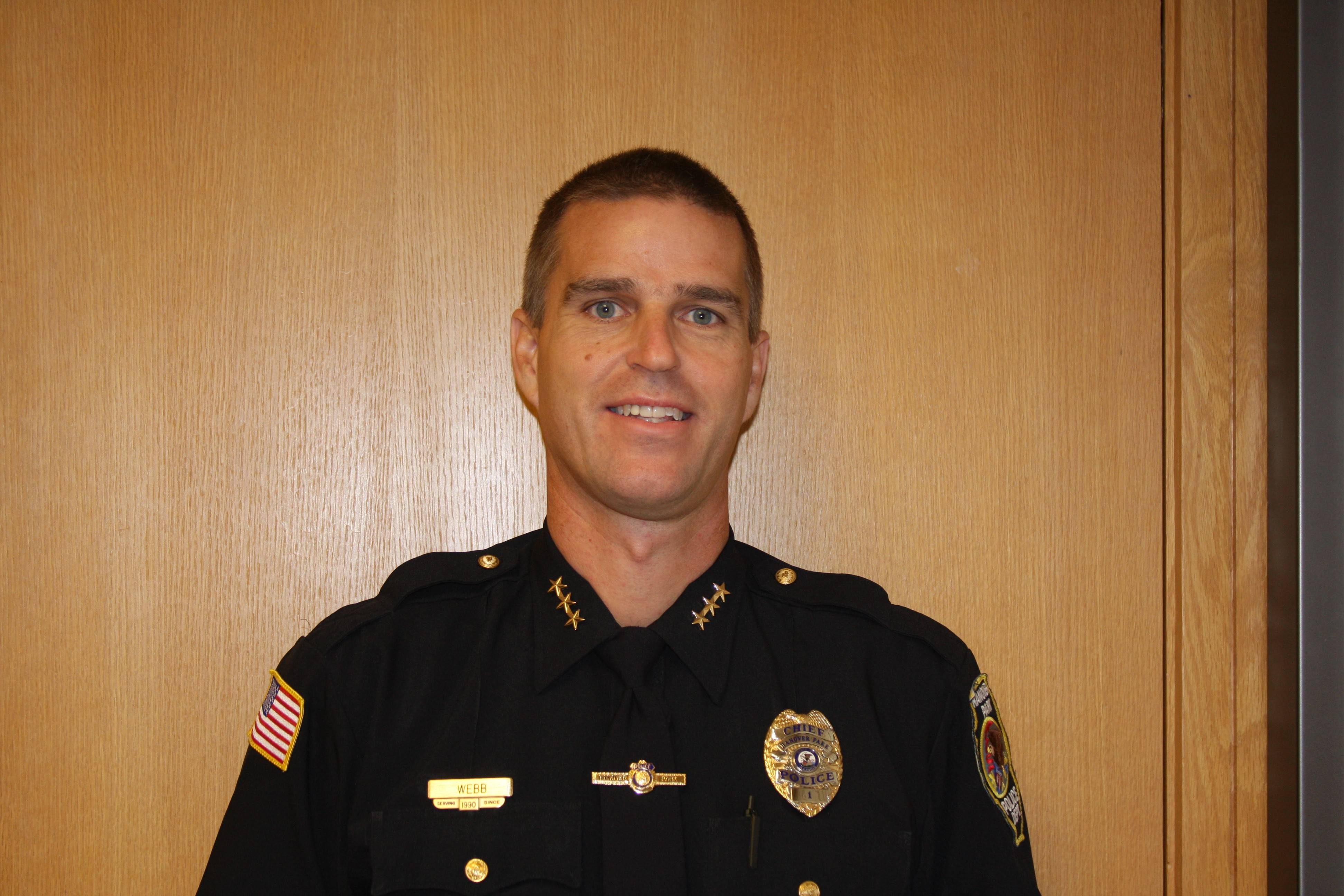 Hanover Park Police Chief David Webb