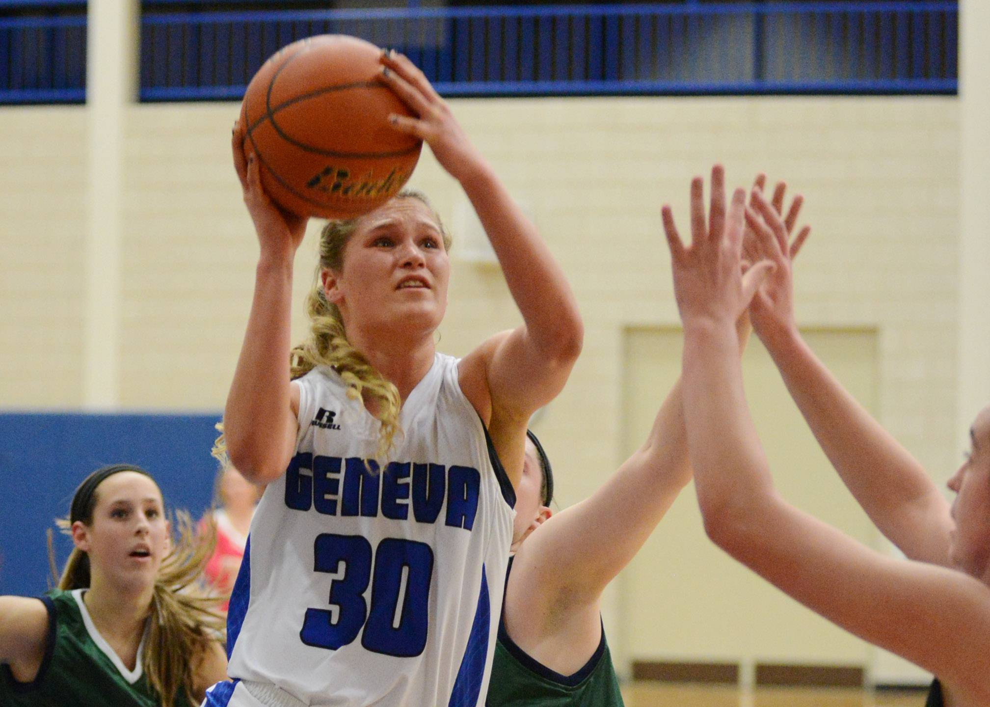 Images from the Bartlett vs. Geneva girls basketball game Thursday, February 13, 2014.