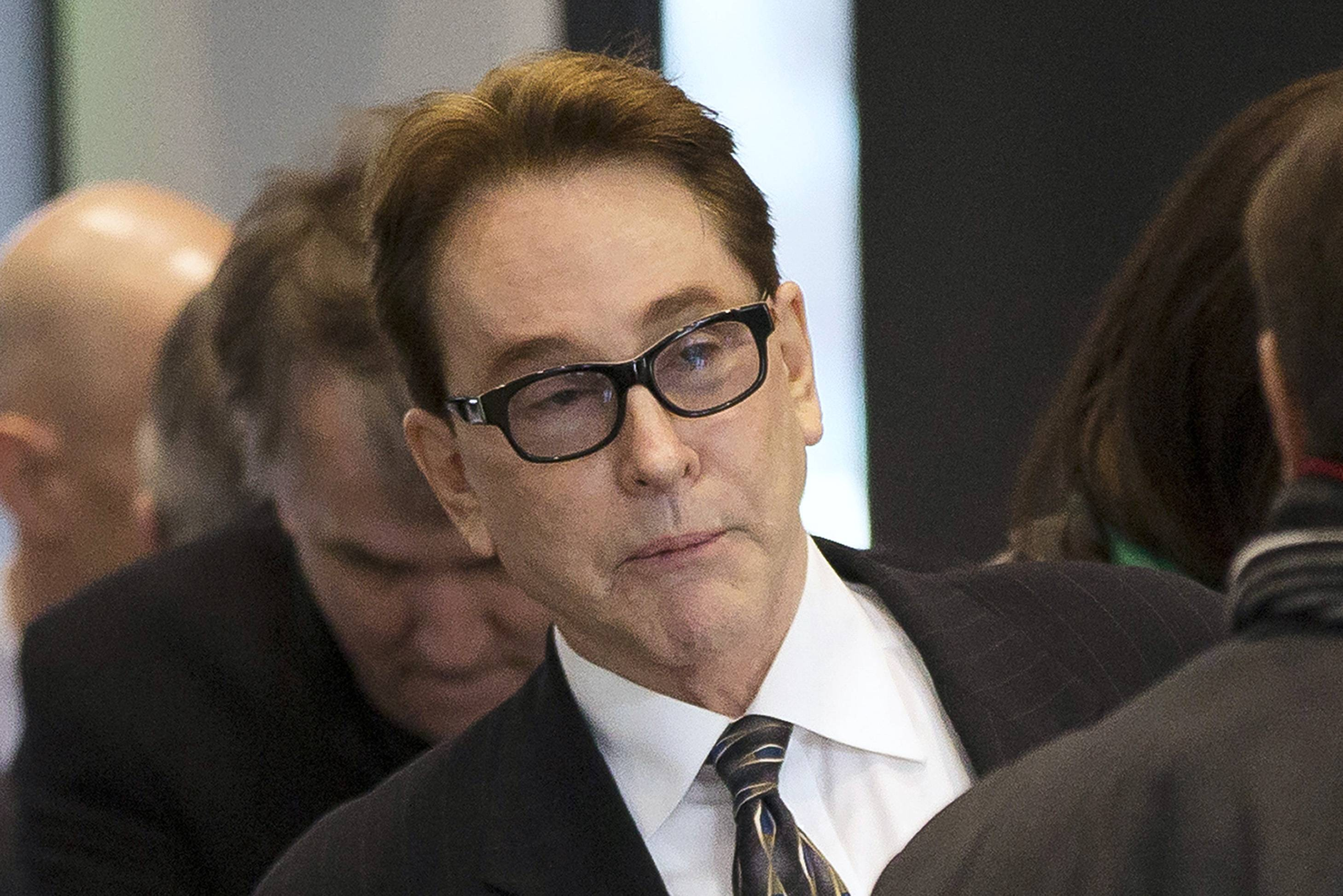 H. Ty Warner, the billionaire who created Beanie Babies, is seen at court Jan. 14. On Thursday, the U.S. attorney's office in Chicago filed a notice appealing the sentence for Warner that included no prison time for hiding around $25 million from U.S. tax authorities.