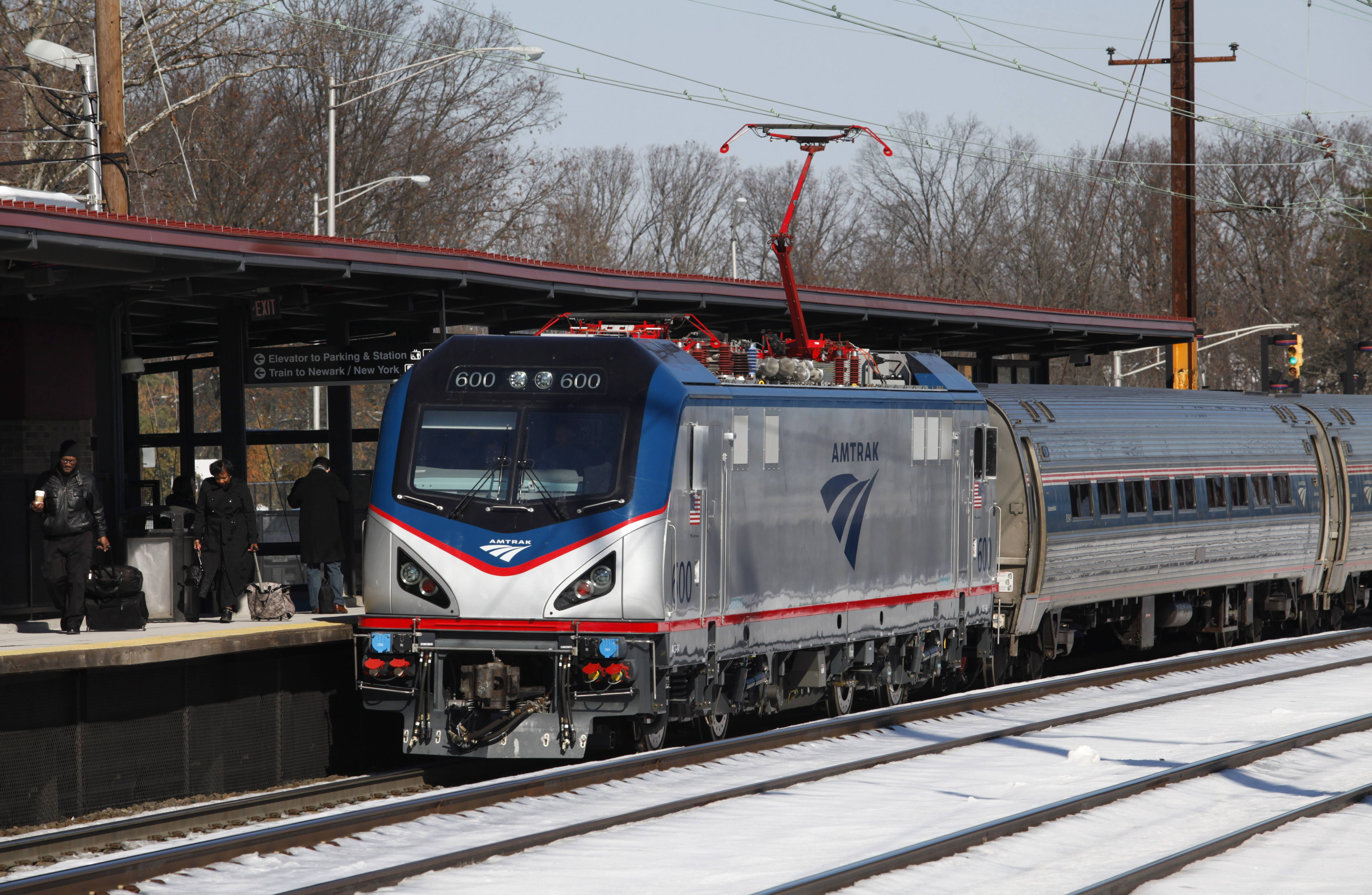 Amtrak is canceling some of its trains and modifying the schedules for others because of the winter storm that's battering the Northeast and the South.