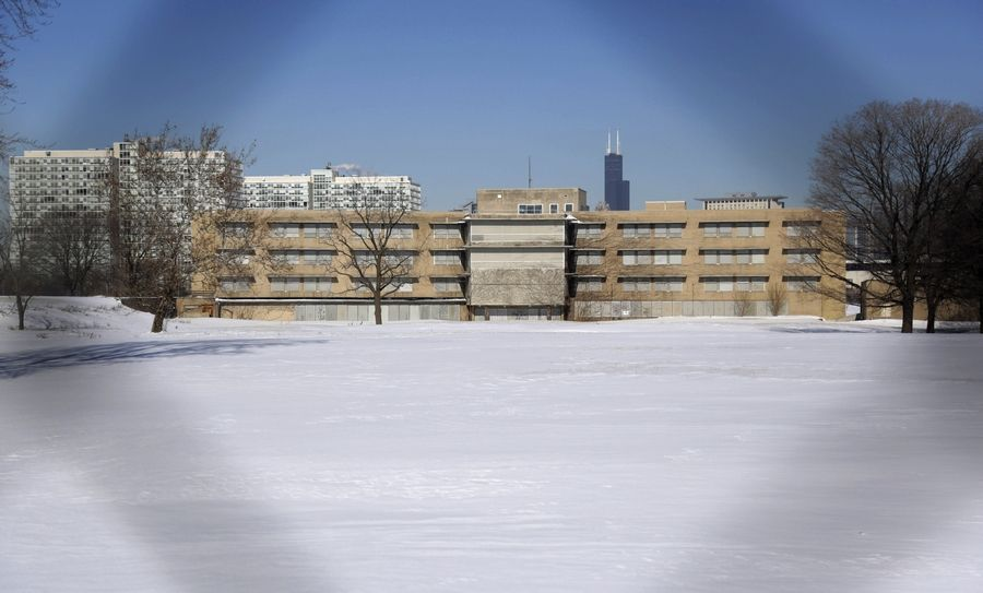 The area that once housed the former Michael Reese Hospital in the South Side neighborhood of Bronzeville is one of six potential Chicago sites bidding to be the location for a Barack Obama presidential library.