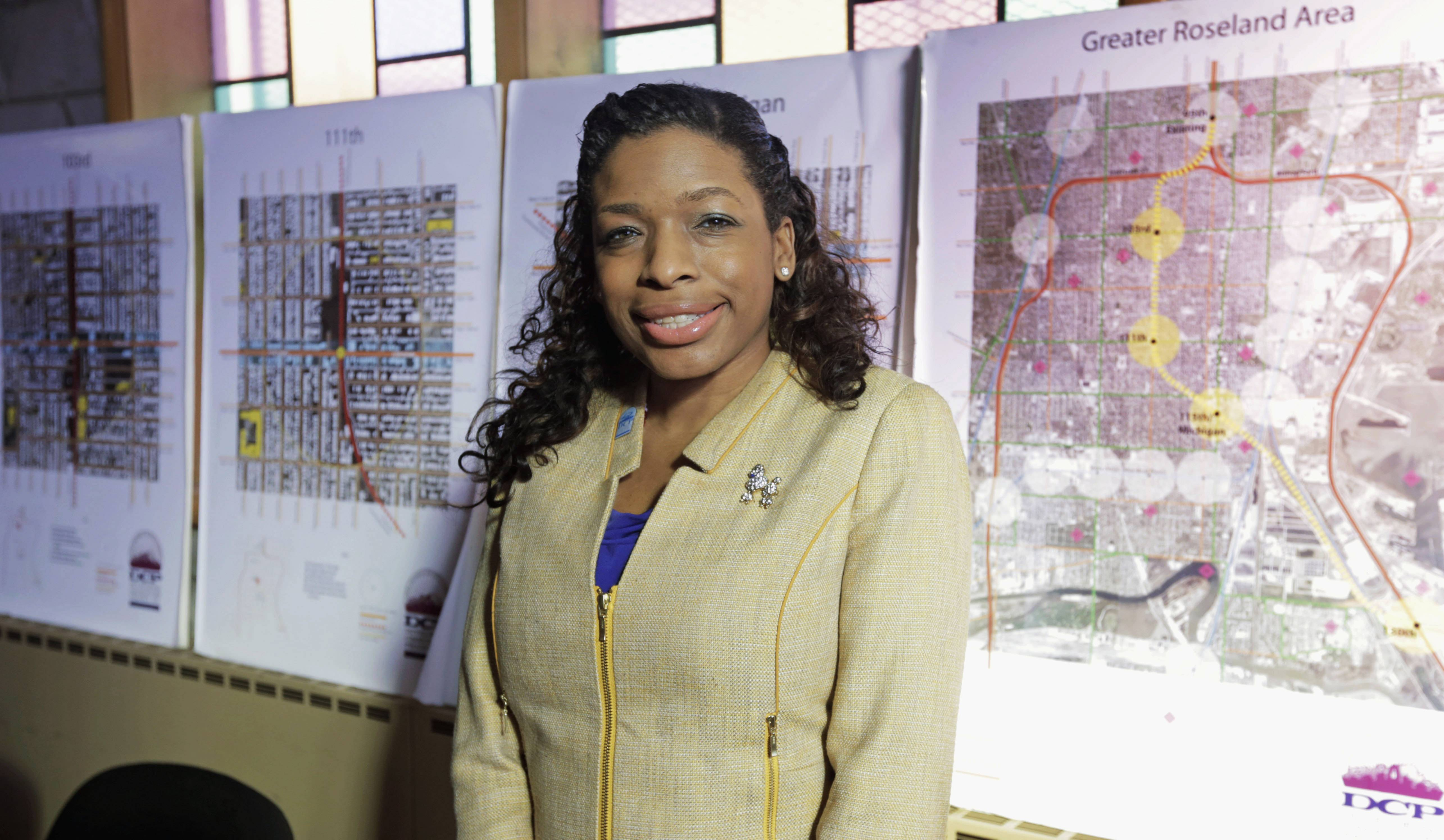 Tiffany Hightower is part of a group trying to bring a Barack Obama presidential library to Chicago State University. She believes the library would transform the area and give young people a link to the world beyond their violence-plagued streets.