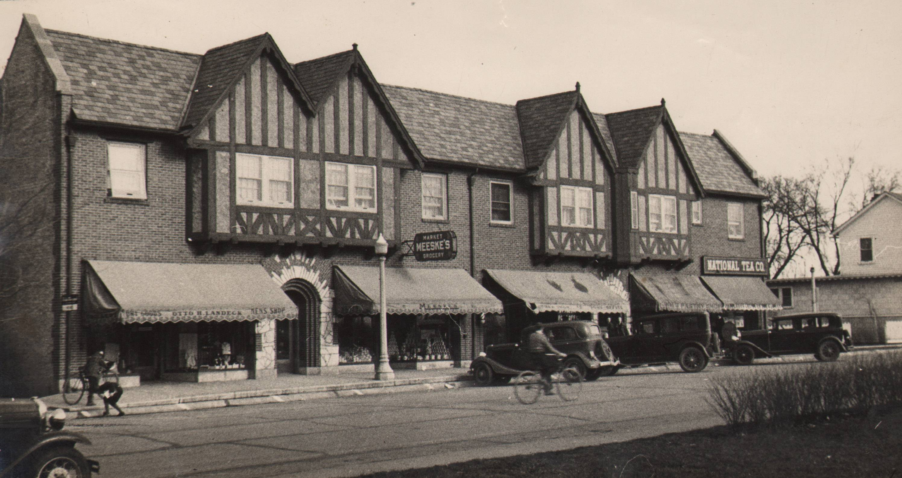 When the Busse Building opened in Mount Prospect in 1926, it was home to Meeske's Market, Otto H. Landeck Men's Store, National Tea Company and the post office. A fire there this week has left a portion of the building badly damaged.