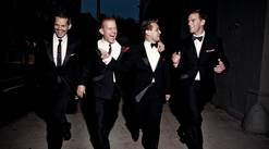 """The Midtown Men — featuring J. Robert Spencer, Christian Hoff, Michael Longoria and Daniel Reichard of the original Broadway company of """"Jersey Boys"""" — perform two shows at the Paramount Theatre in Aurora on Friday, Feb. 14."""