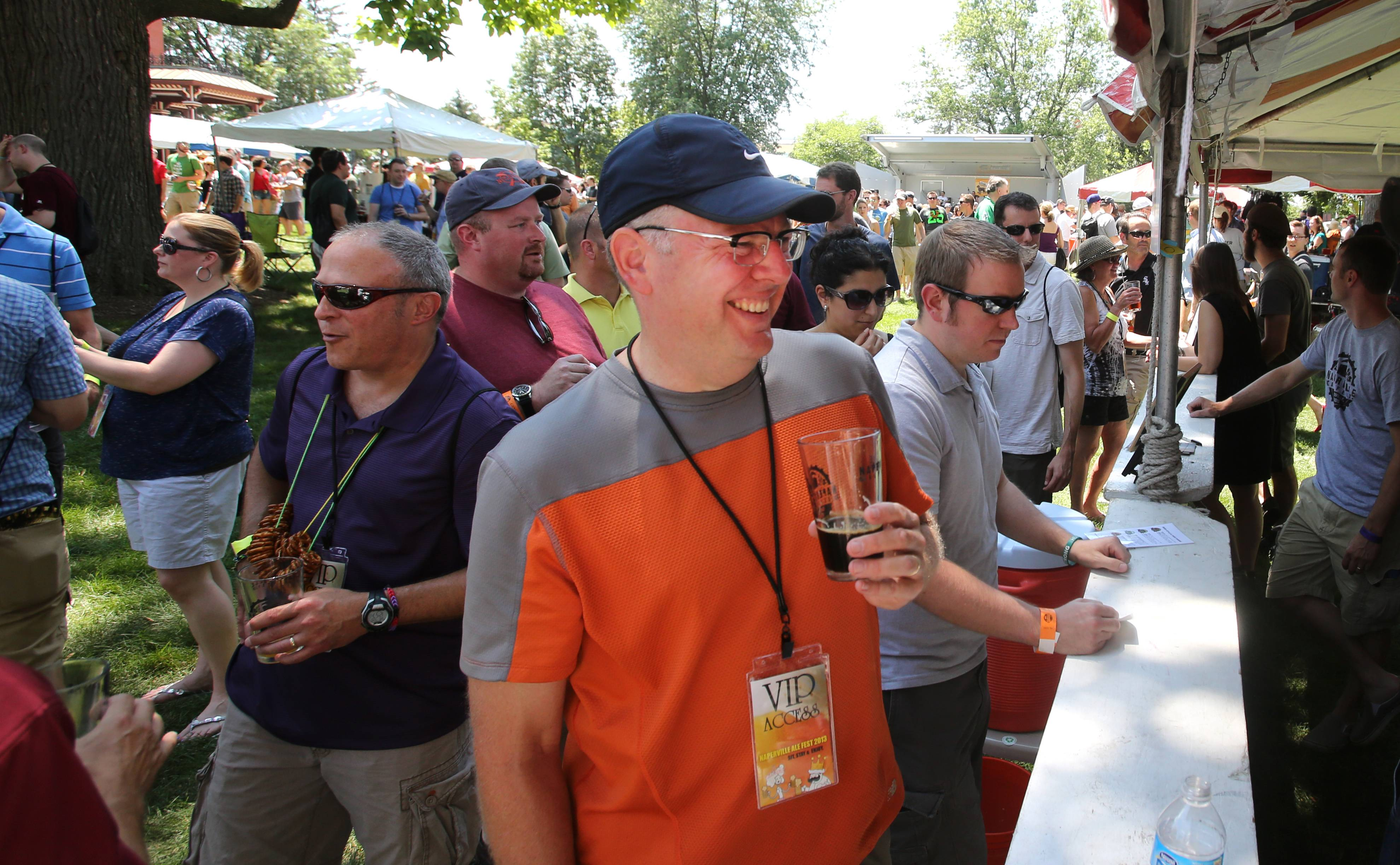 Anybody can hold an outdoor Ale Fest in summer, but pulling one off outside in the dead of winter can be more challenging. That's not stopping organizers of the first Naperville Winter Ale Fest, who hope to attract 3,000 people later this month to Frontier Park on the city's south side.