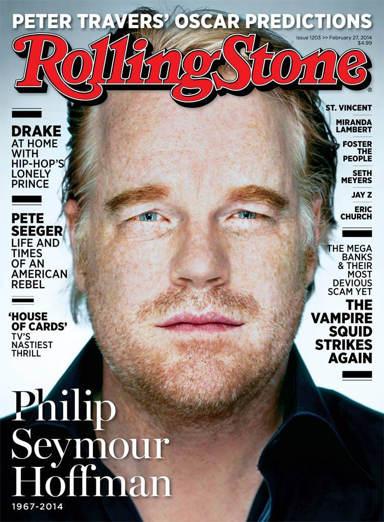 Drake is apologizing for lashing out at Rolling Stone for replacing him on the cover with the late Philip Seymour Hoffman.