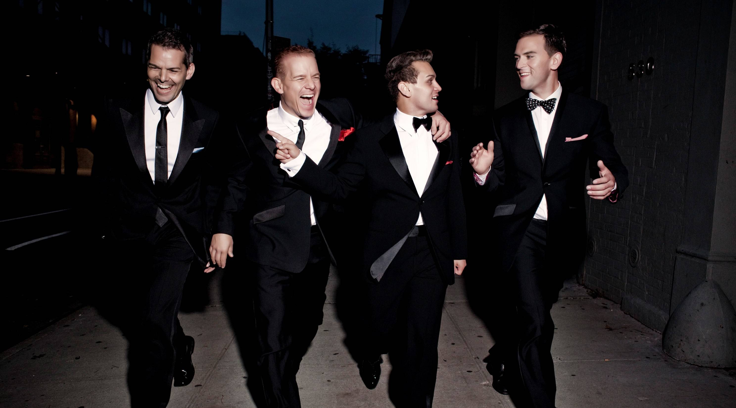 "The Midtown Men -- featuring J. Robert Spencer, Christian Hoff, Michael Longoria and Daniel Reichard of the original Broadway company of ""Jersey Boys"" -- perform two shows at the Paramount Theatre in Aurora on Friday, Feb. 14."