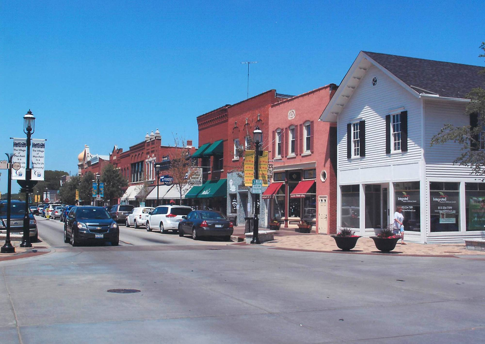 The historic district in Plainfield has been added to the National Register of Historic Places.