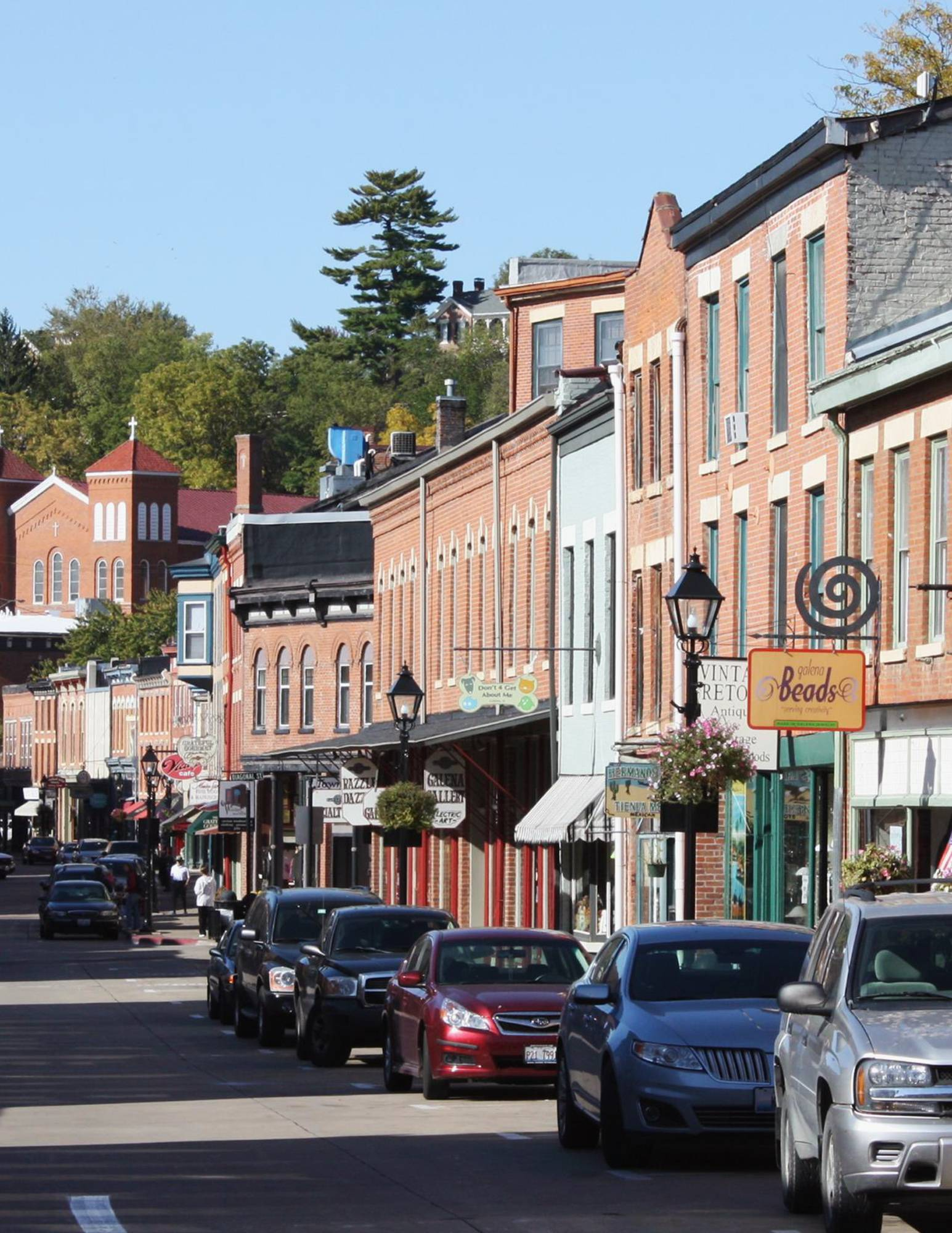 The historic district in Galena is now on the National Register of Historic Places.