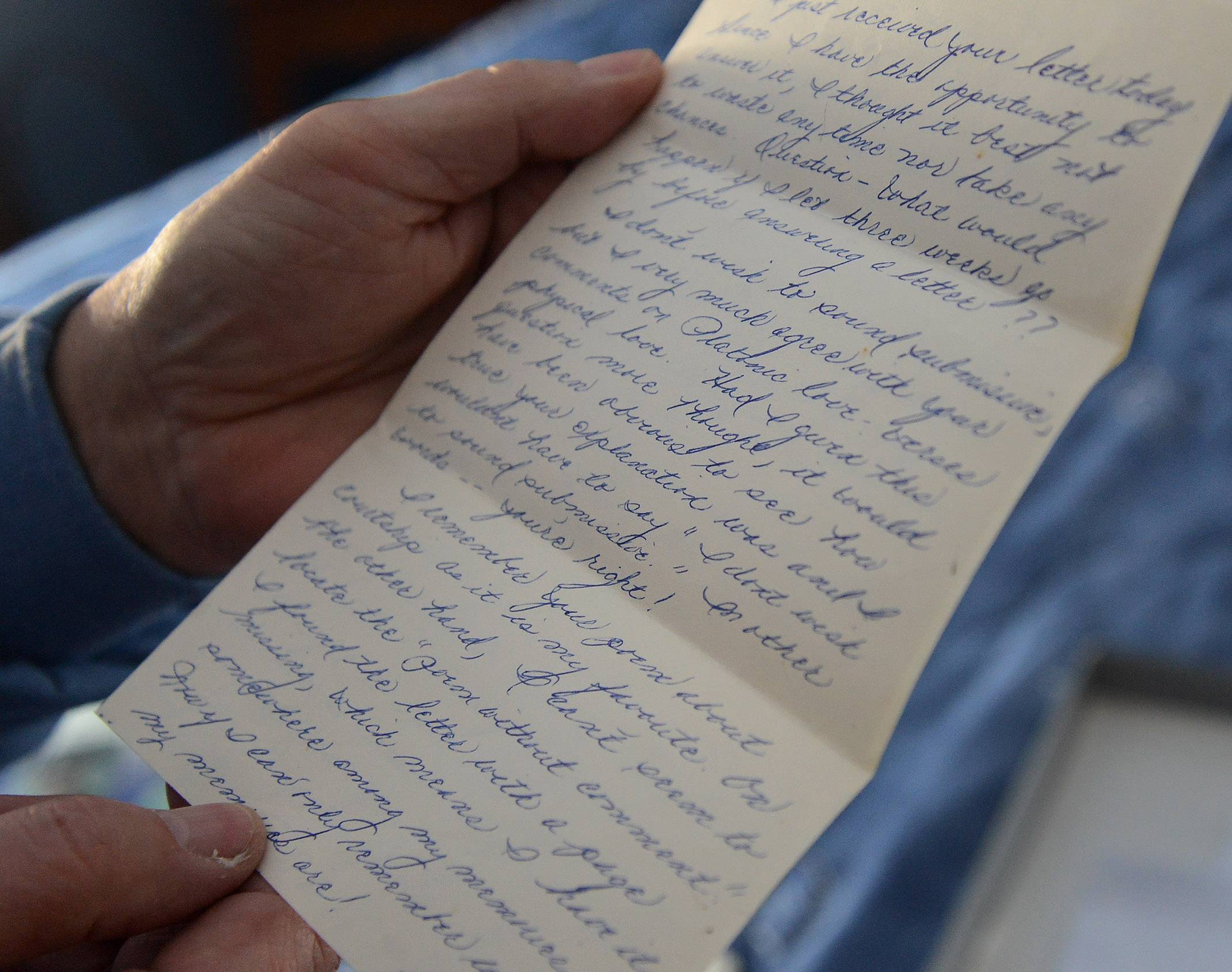 Maggie's handwritten letters from nearly a half-century ago rekindled the emotions from when their relationship began, says Dennis Depcik, who has written a book about how the couple fell in love.