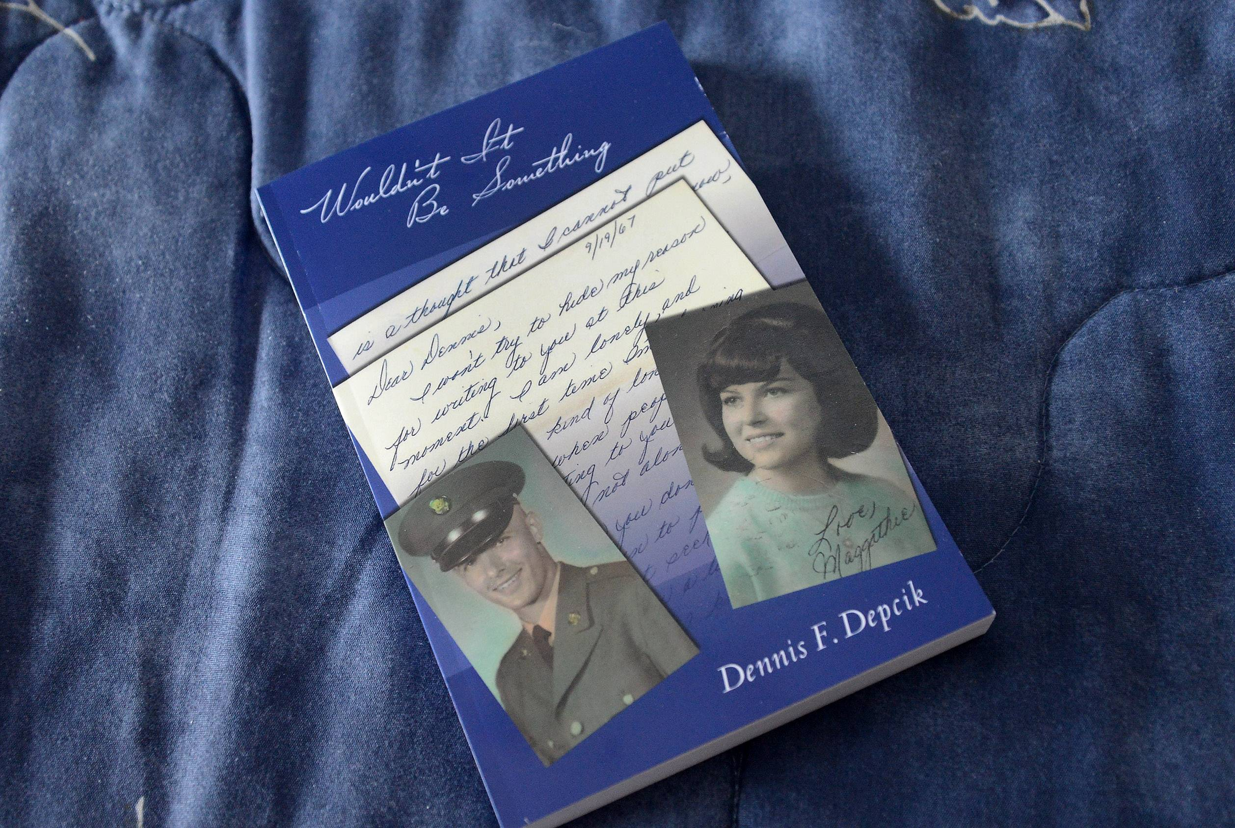 Coping with grief after the death of his wife, Dennis Depcik of Buffalo Grove wrote this book after finding a box of the couple's old letters.