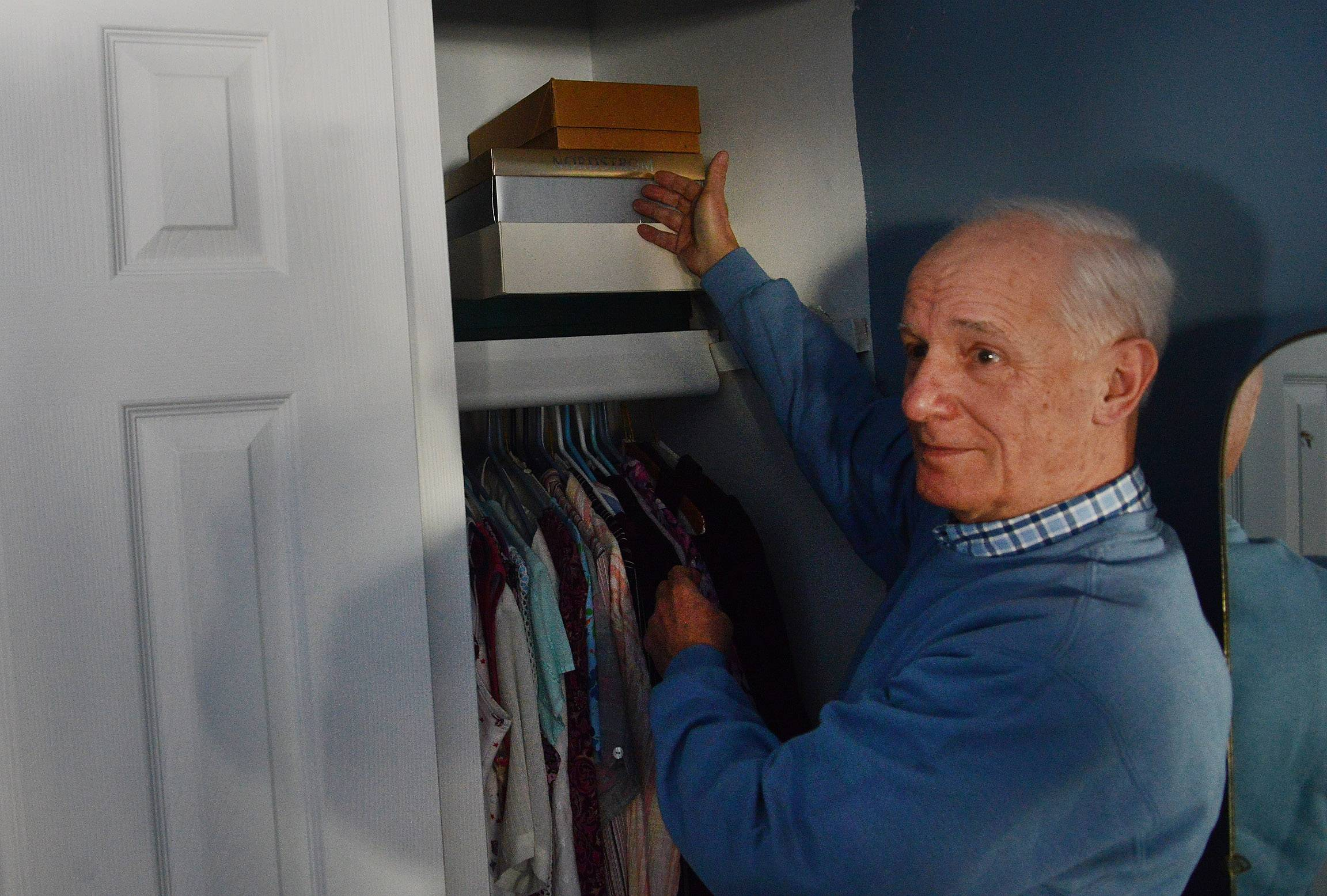A month after his wife died, a grieving Dennis Depcik found a mysterious box in Maggie's closet in their Buffalo Grove home.