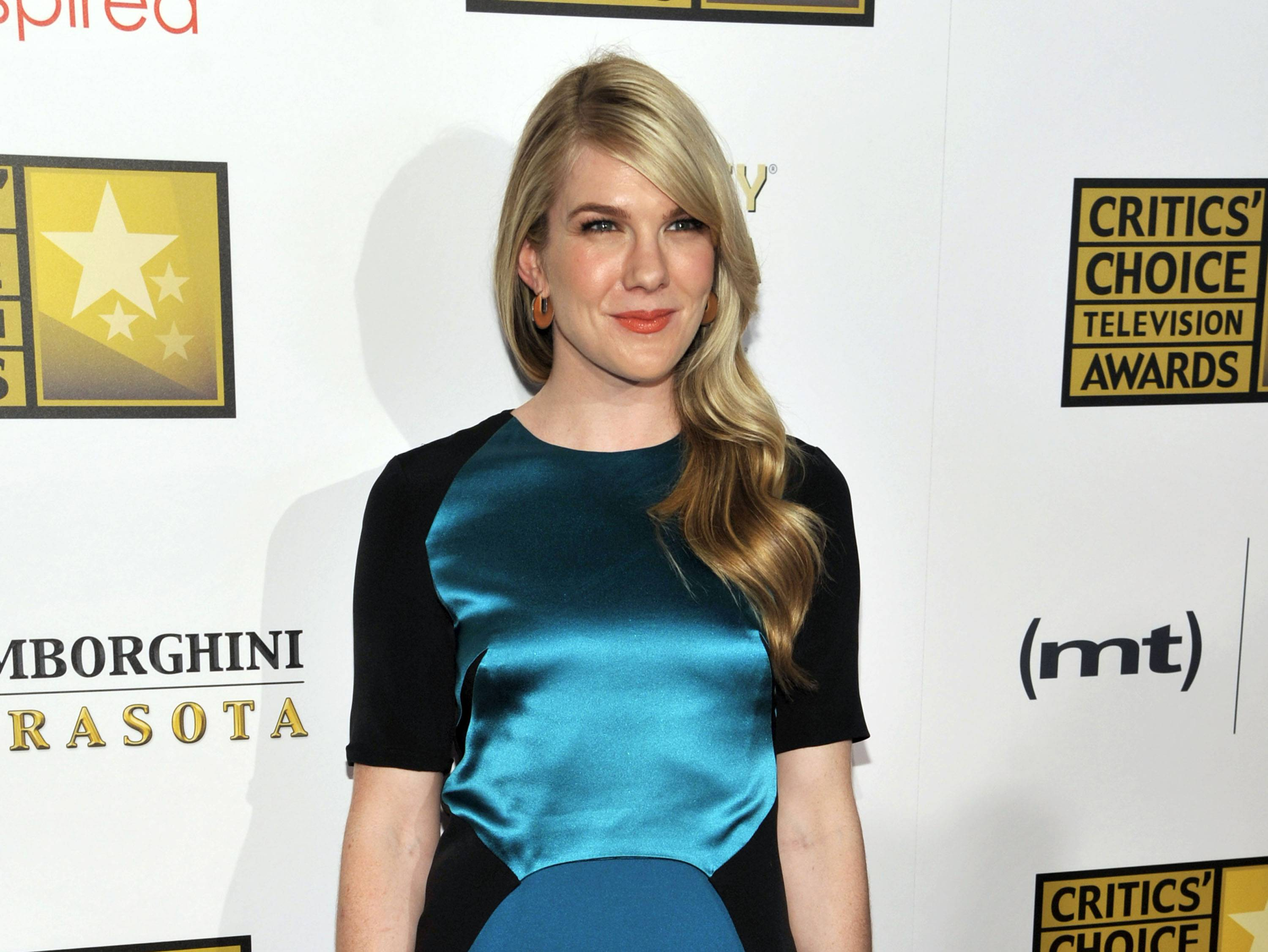 Actress Lily Rabe arrives at the Critics' Choice Television Awards in Beverly Hills, Calif. Rabe, John Lithgow and Hamish Linklater are all returning to Central Park's Delacorte Theatre this summer for another round of Shakespeare in the Park.