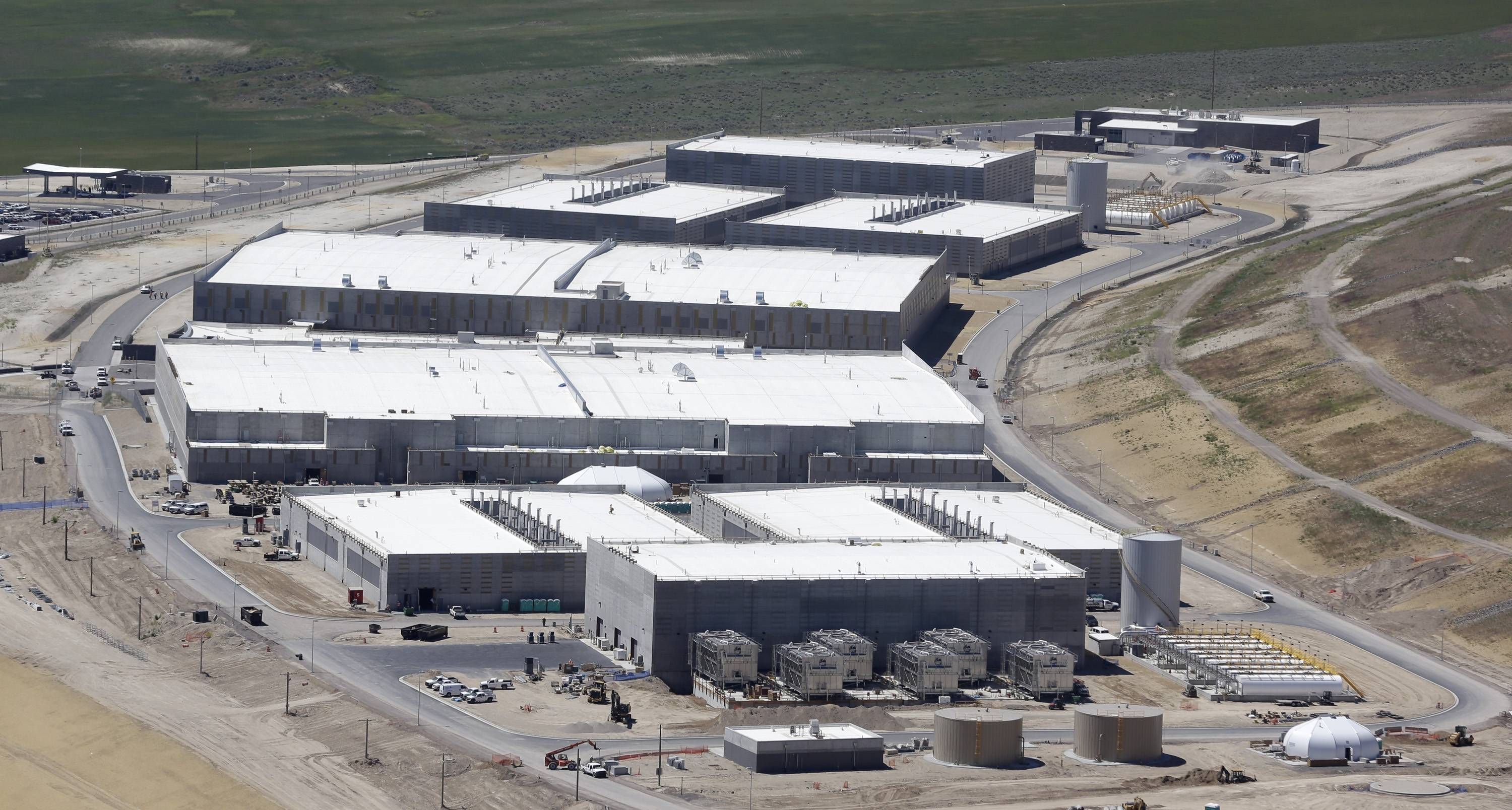 Associated Press/June 6, 2013 The National Security Agency's Utah Data Center in Bluffdale, Utah.