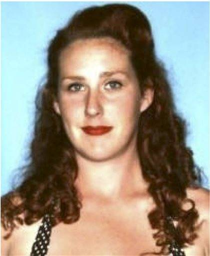 This undated photo released by the Maui Police Department shows Carly Scott. Police have located the torched shell of a missing pregnant Maui woman's sport utility vehicle. But Carly Scott remains missing. Police say the 27-year-old redhead was last seen Sunday at her sister's Haiku home.
