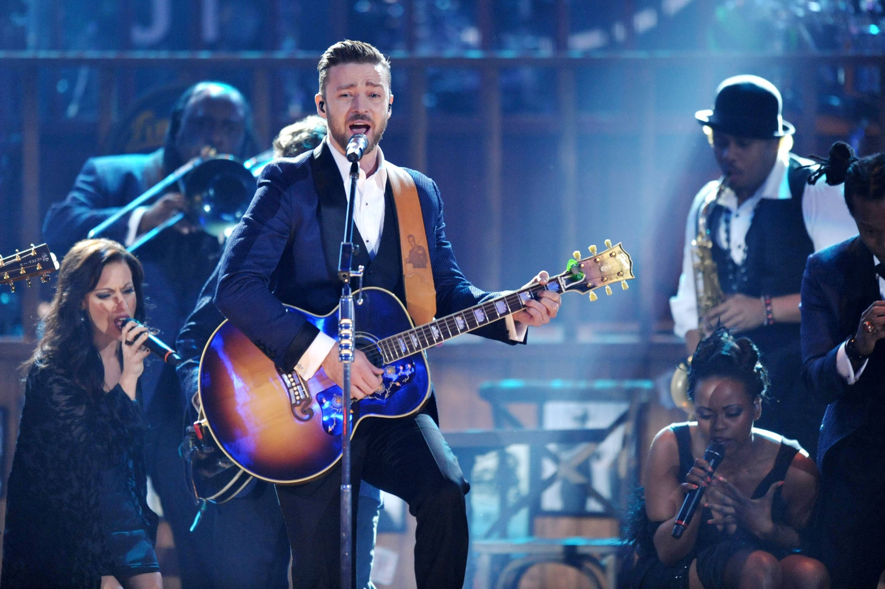 AP File PhotoJustin Timberlake brings The 20/20 Experience World Tour to the United Center in Chicago on Sunday and Monday, Feb. 16 and 17.