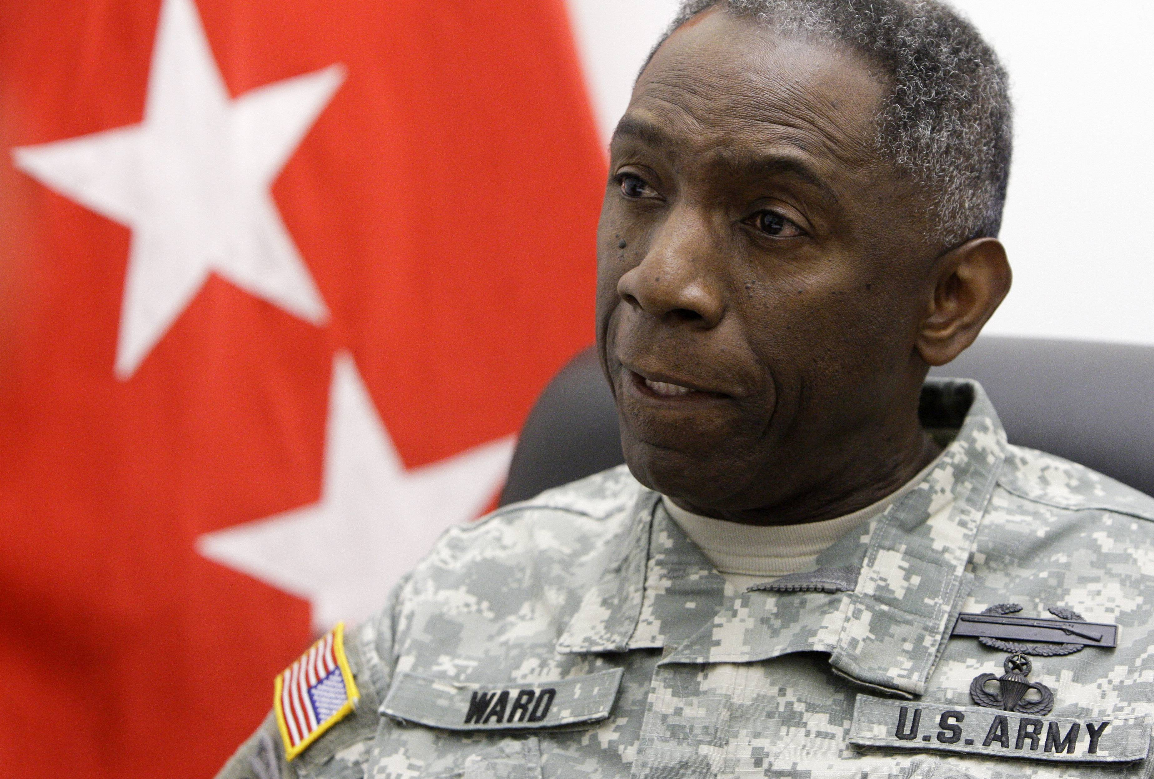 "Army Gen. William ""Kip"" Ward, Commander, United States Africa Command"