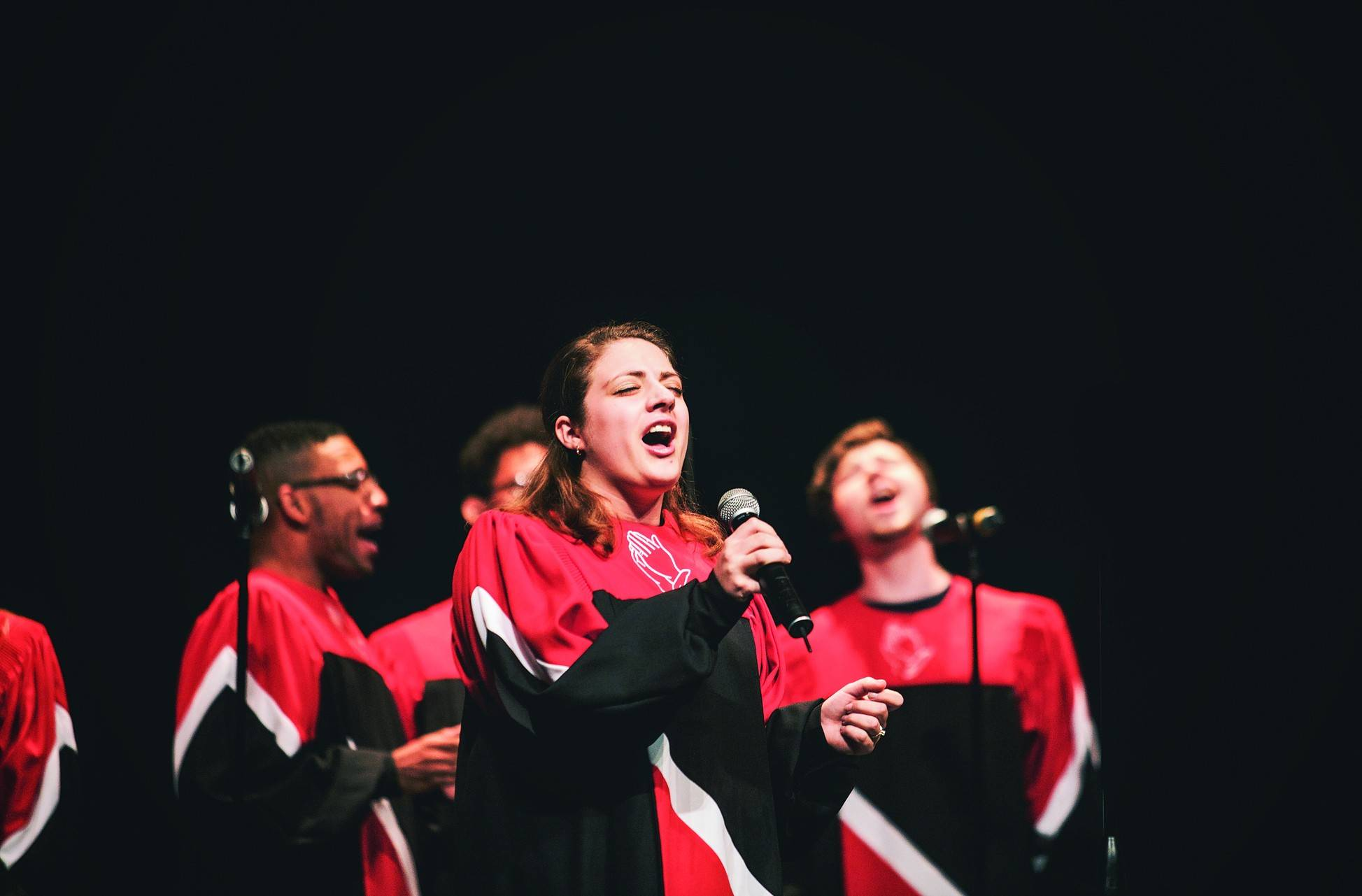 North Central College's Voices of Praise gospel choir will be among the groups performing Saturday at the Gospel Extravaganza.