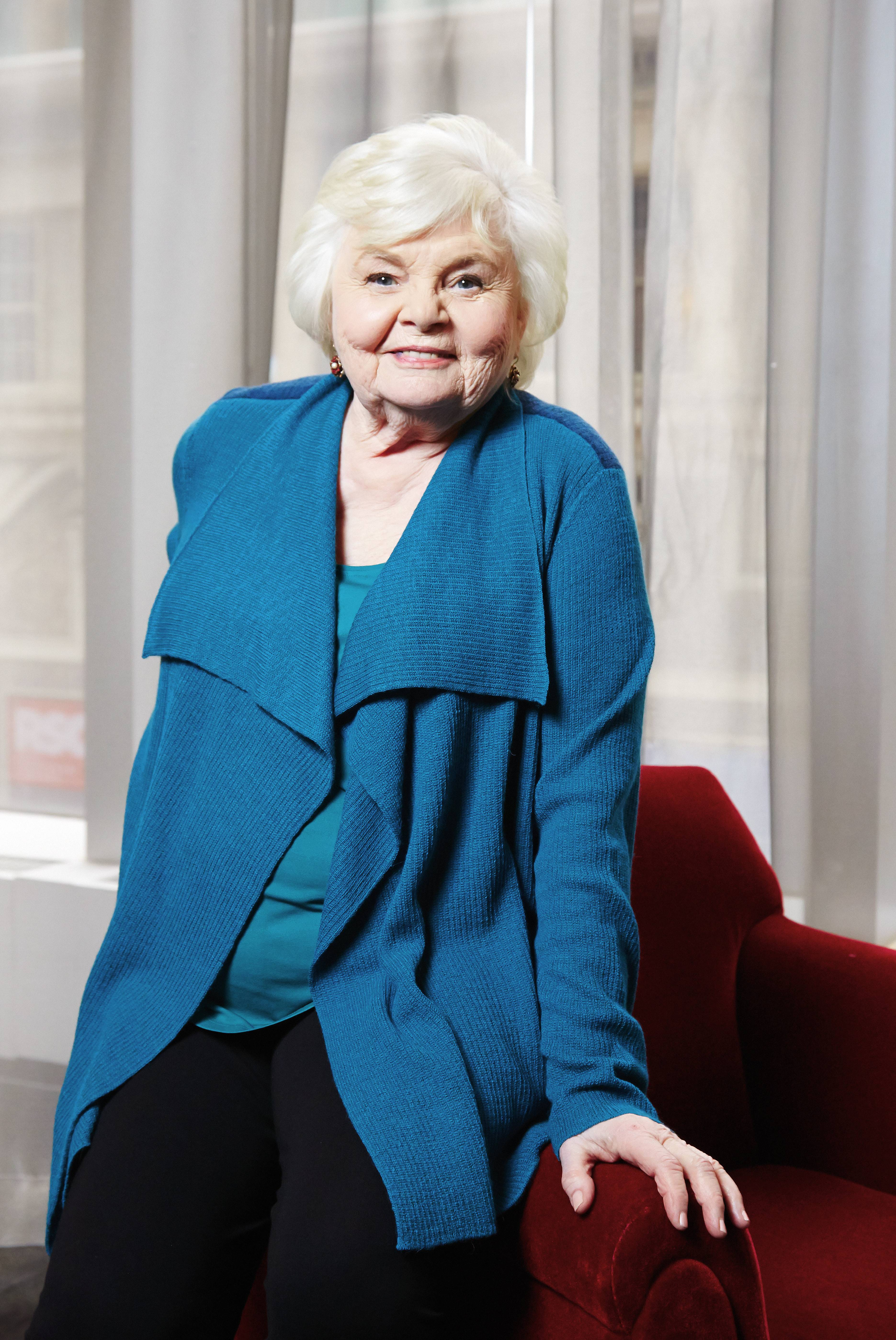 "Oscar-nominated actress June Squibb is nominated for best supporting actress for her role in ""Nebraska."""