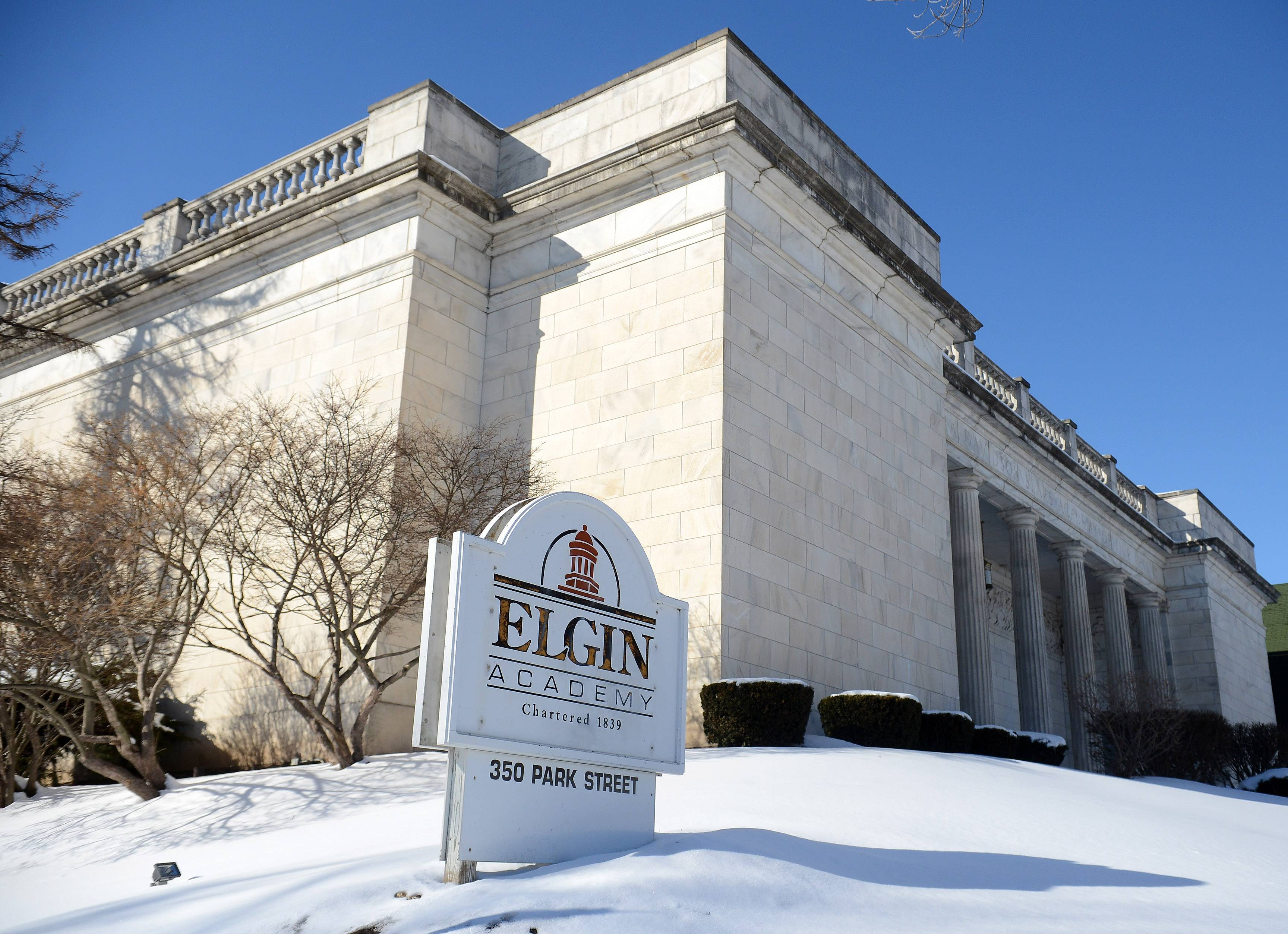 Elgin Academy in Elgin marks the 175th anniversary of its charter this month with a day of service Friday and a day of festivities Saturday. It is the oldest coeducational college preparatory institution in the Northwest suburbs.