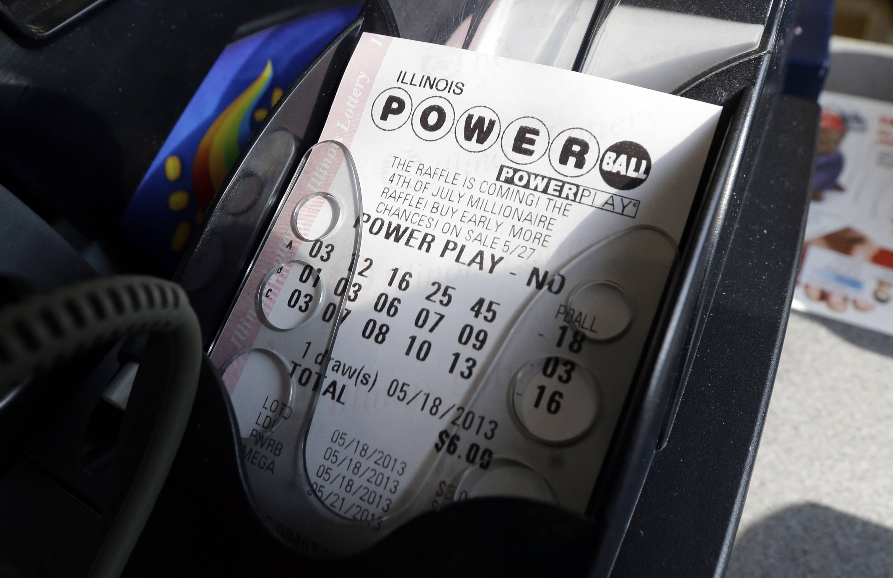 According to lottery officials there were no jackpot winners for Saturday's drawing. The current estimated jackpot for Wednesday's drawing's jackpot is estimated at $400 million or $227.8 million in cash value.