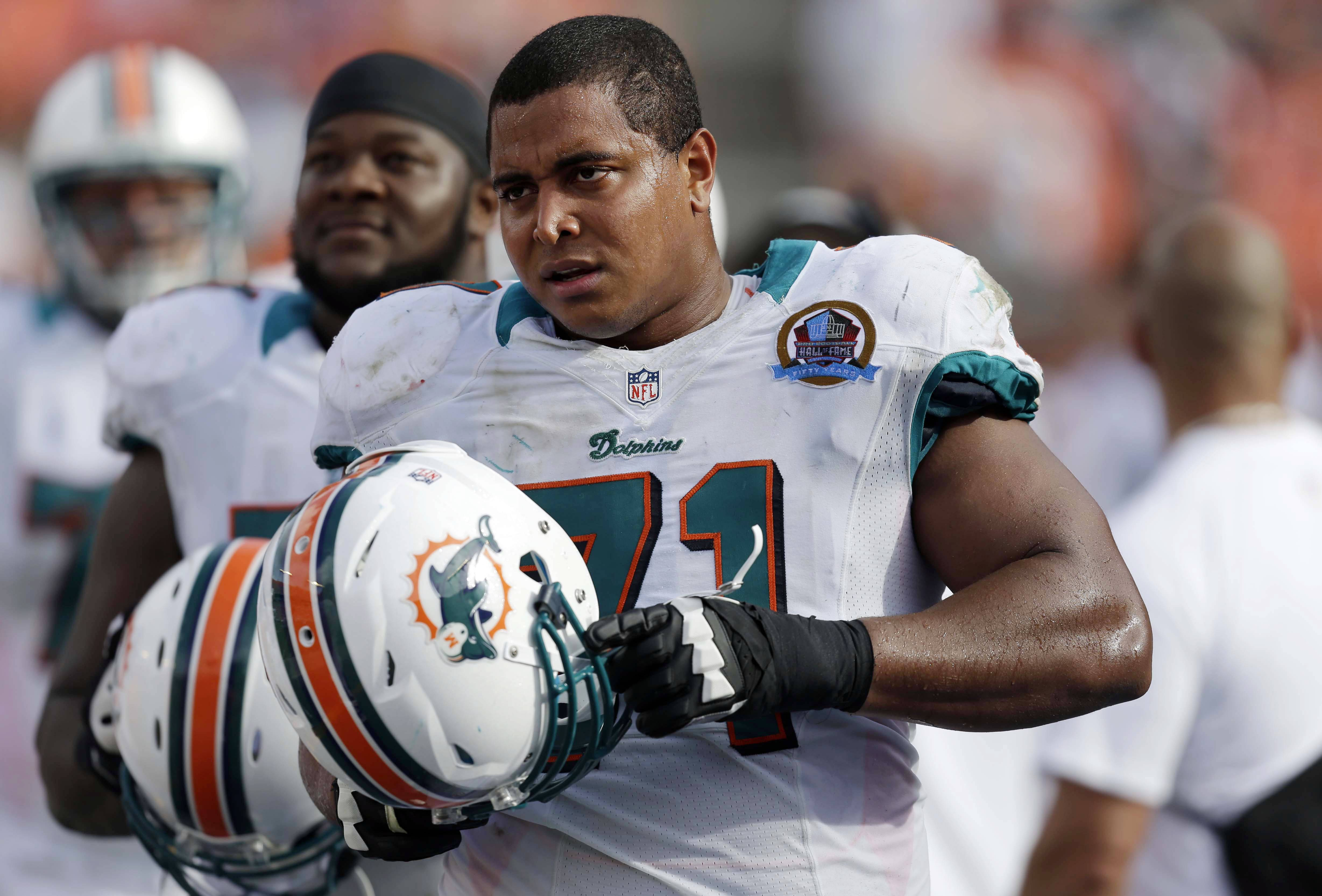 Even when it became clear that tackle Jonathan Martin couldn't or didn't know how to stand up for himself, nobody with the Miami Dolphins had the courage to step in.