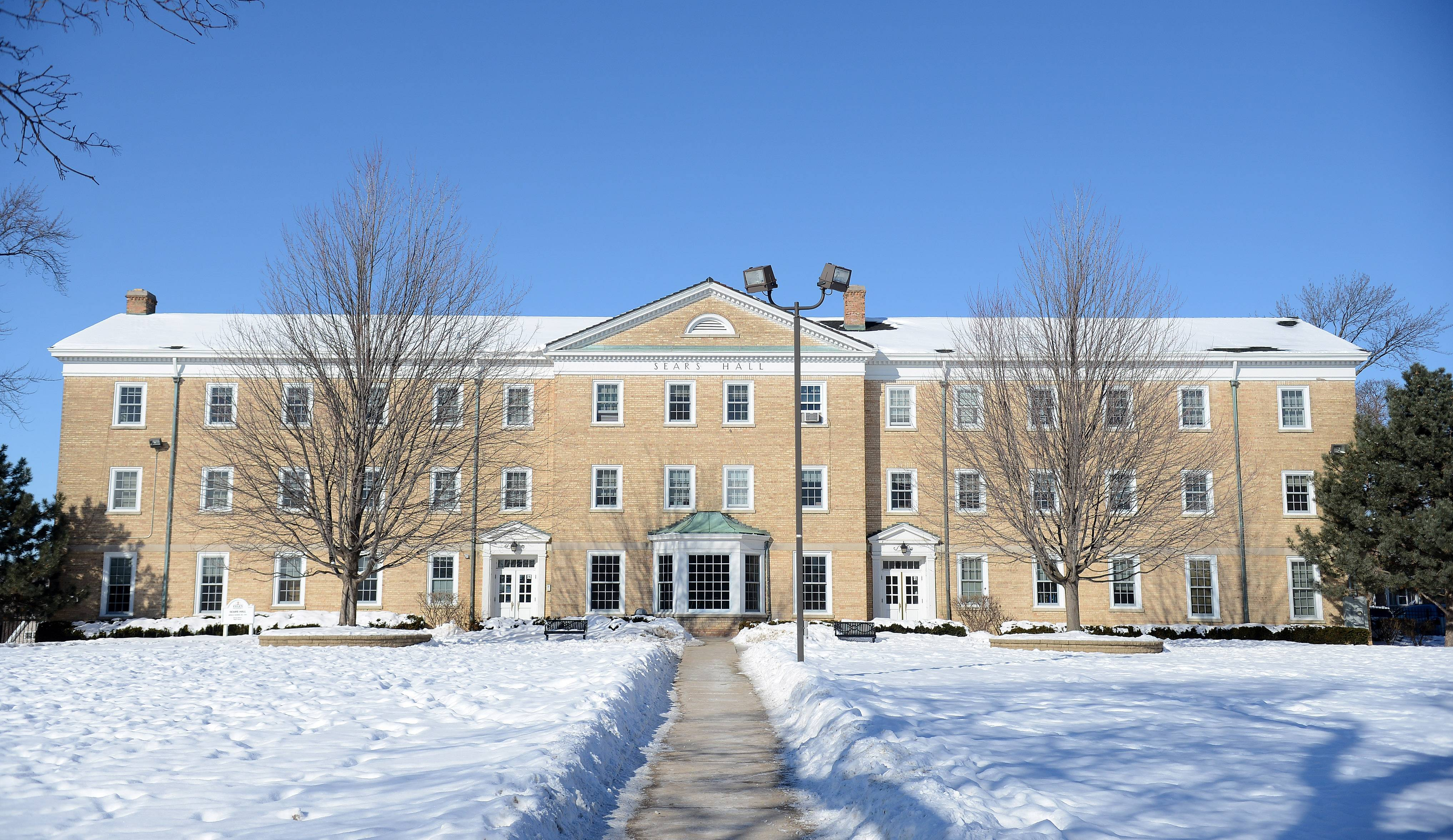 Sears Hall on the Elgin Academy campus, which marks its 175th anniversary this month.