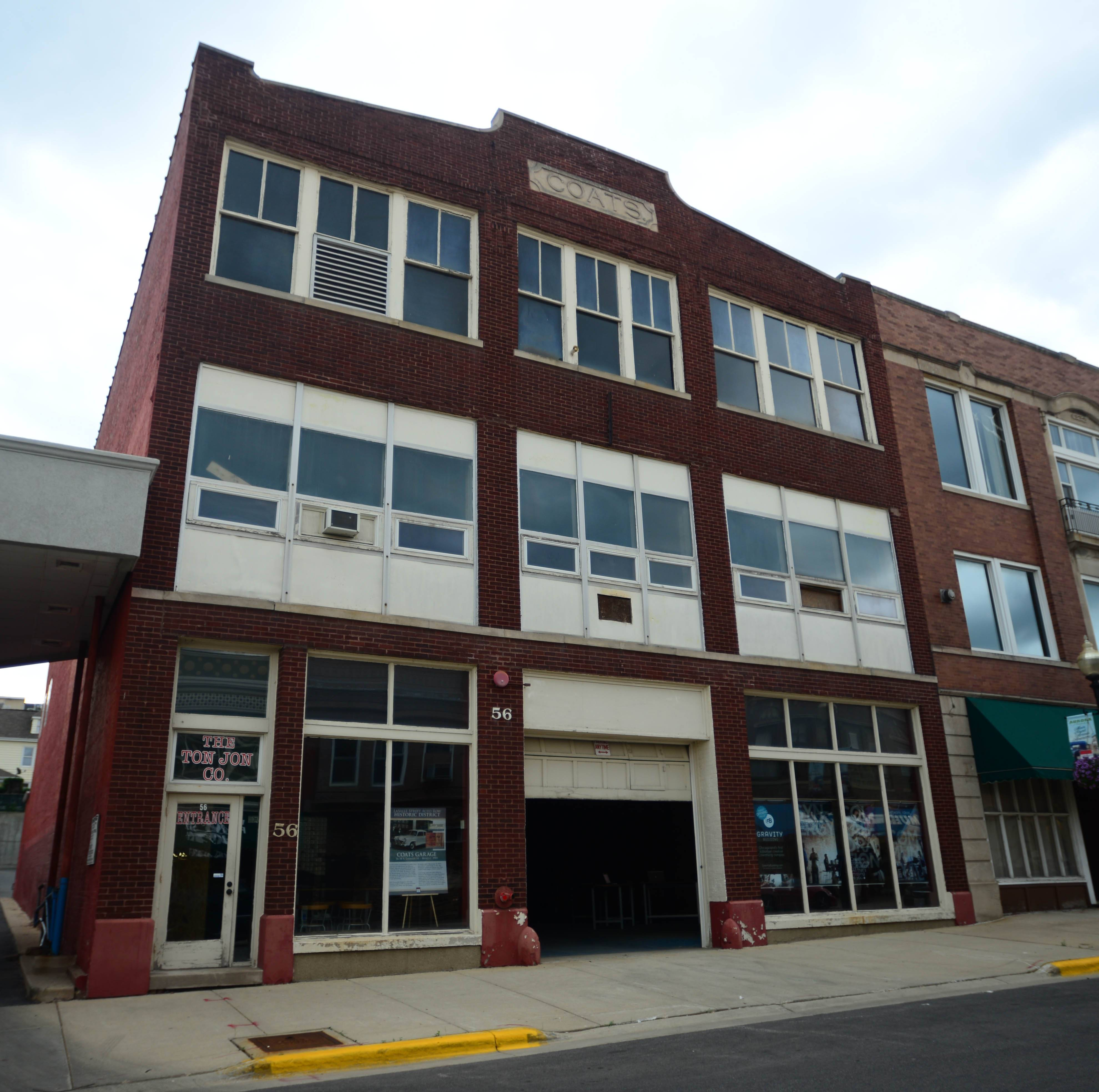 Gravity Building in downtown Aurora is one of a handful of co-working centers and business incubators in development across the suburbs as worker mobility increases.