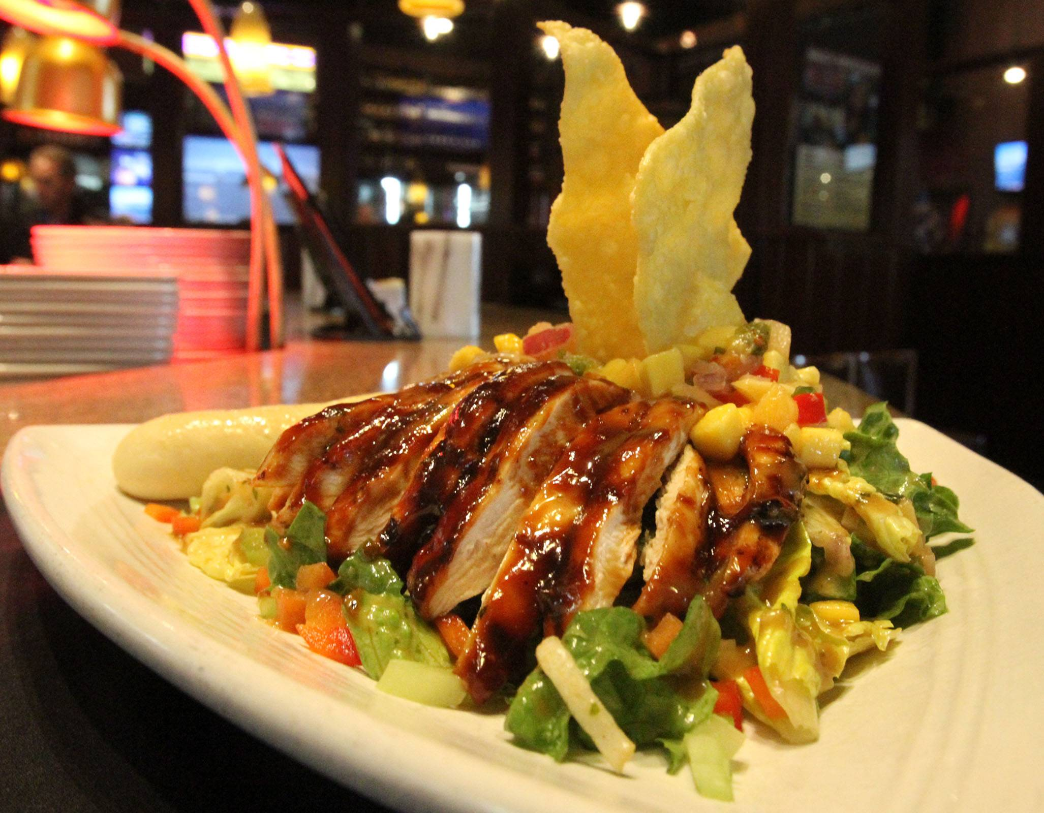 Try RAM Restaurant and Brewery's Thai Chicken Salad during Northwest Chicago Restaurant Week.