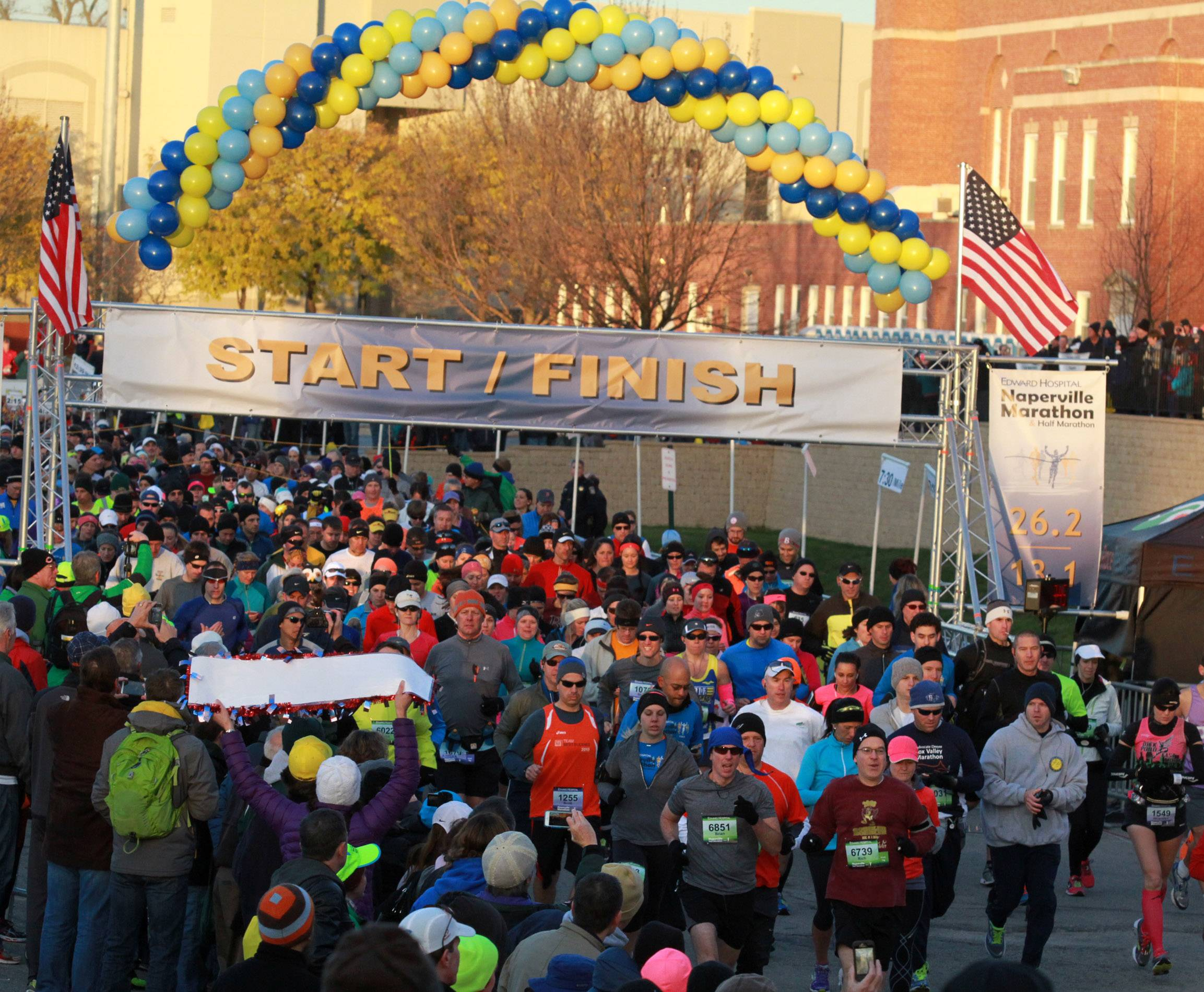 Organizers of the second annual Edward Hospital Naperville Marathon and Half Marathon will seek approval for a new route when they come before the Naperville City Council on Tuesday. Last year's inaugural race started on the campus of North Central College; this year's would start at Naperville Central High School.